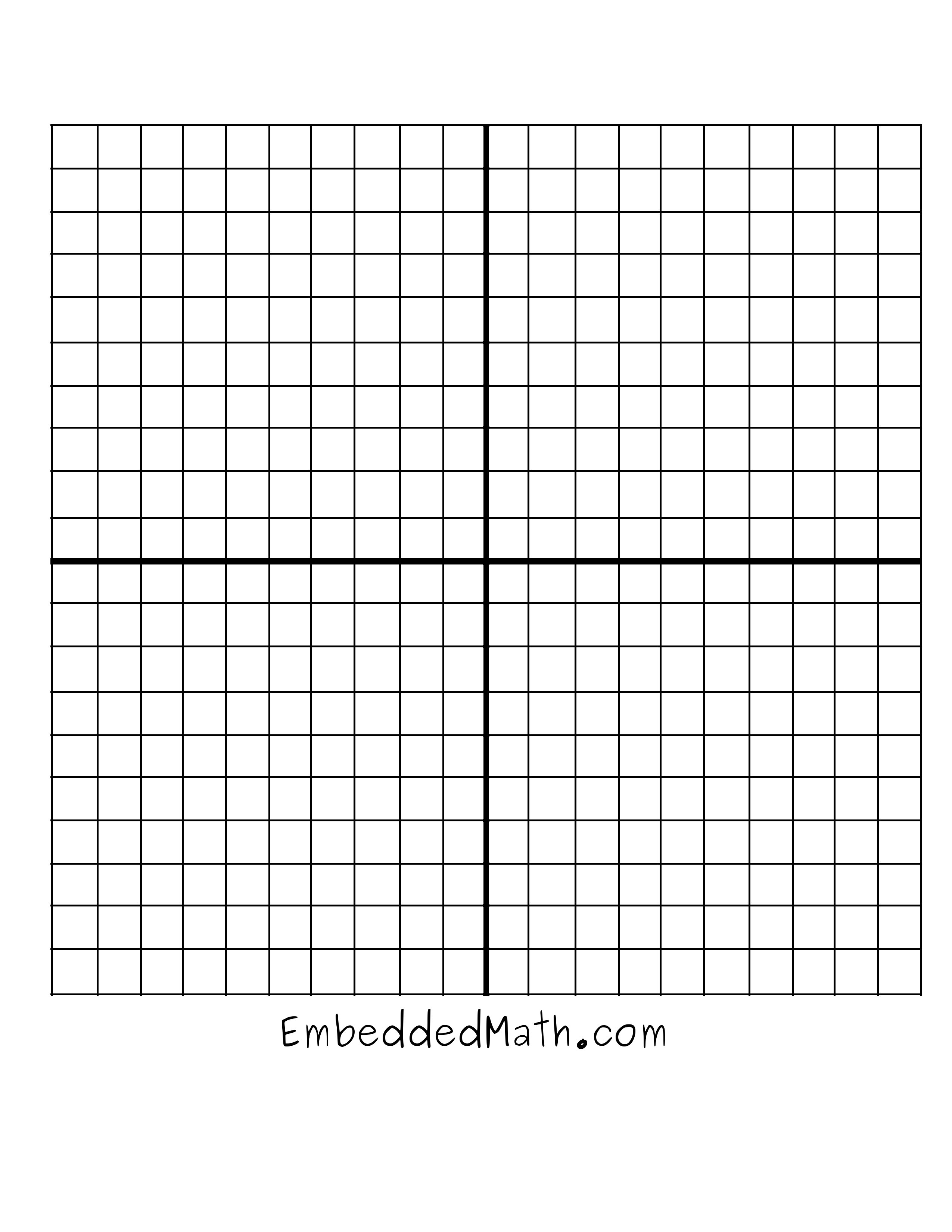13 Best Images Of Blank Coordinate Grid Worksheets