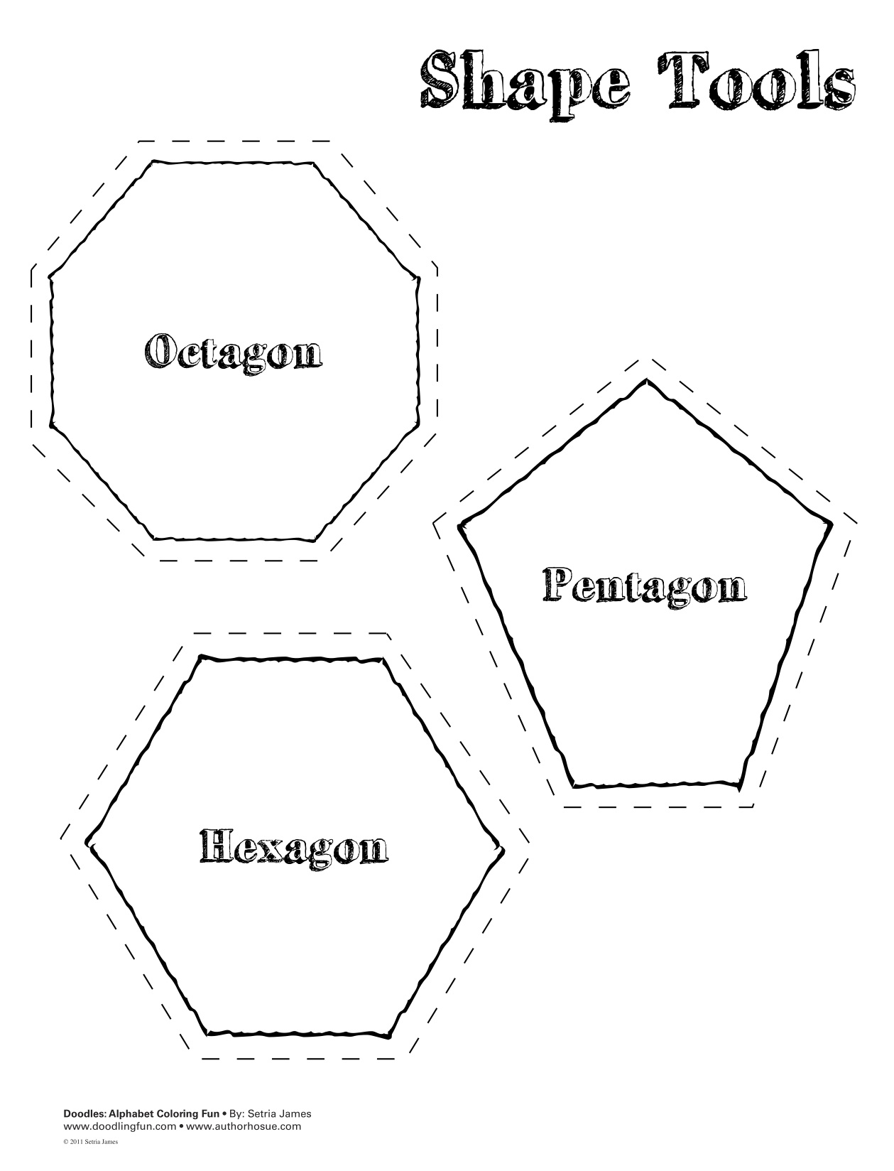 10 Best Images Of Basic Geometry Shapes Worksheets