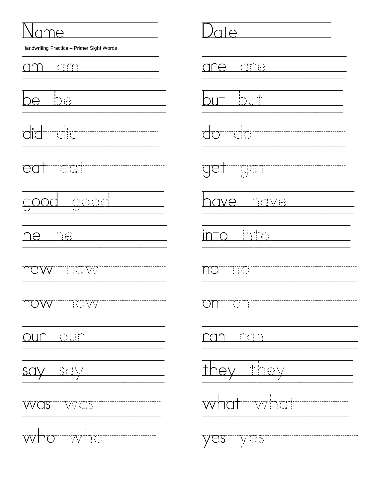 Word Worksheet Category Page 14