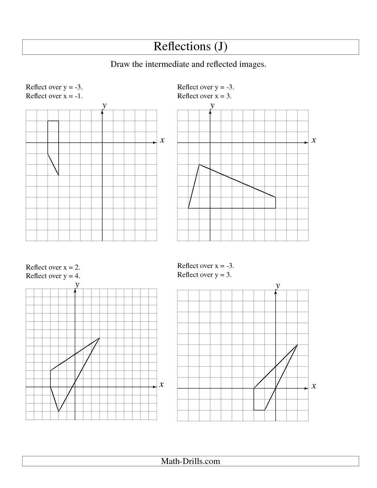 Rotations Worksheet Simple