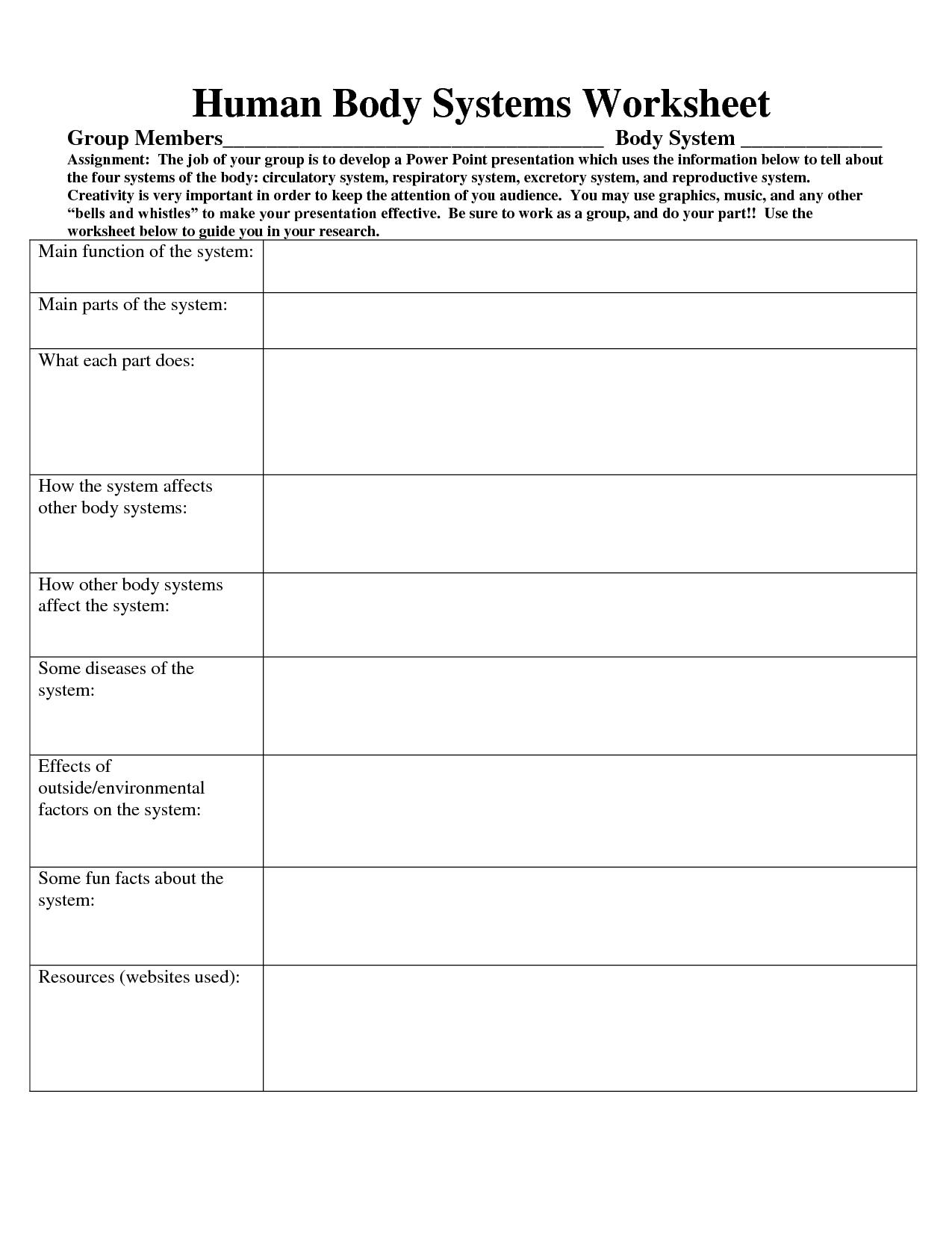 Tumor Measurement Worksheet
