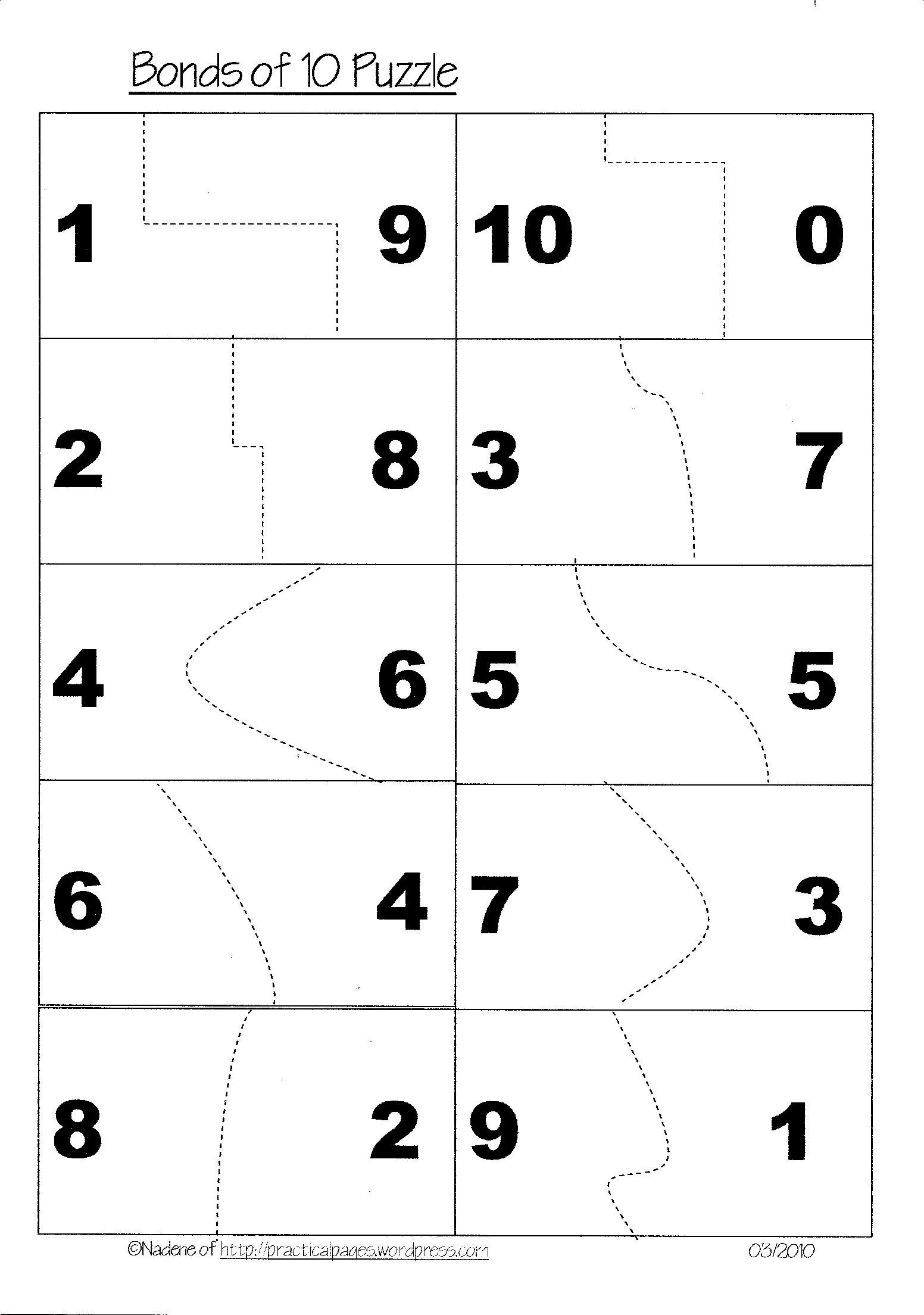 18 Best Images Of Math Making Tens Worksheet