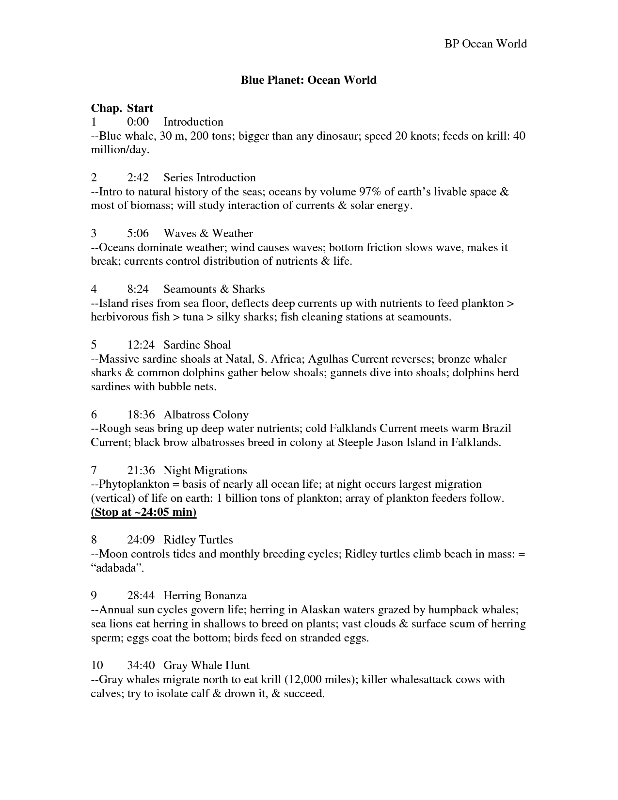 34 Blue Planet Coral Seas Worksheet Answers