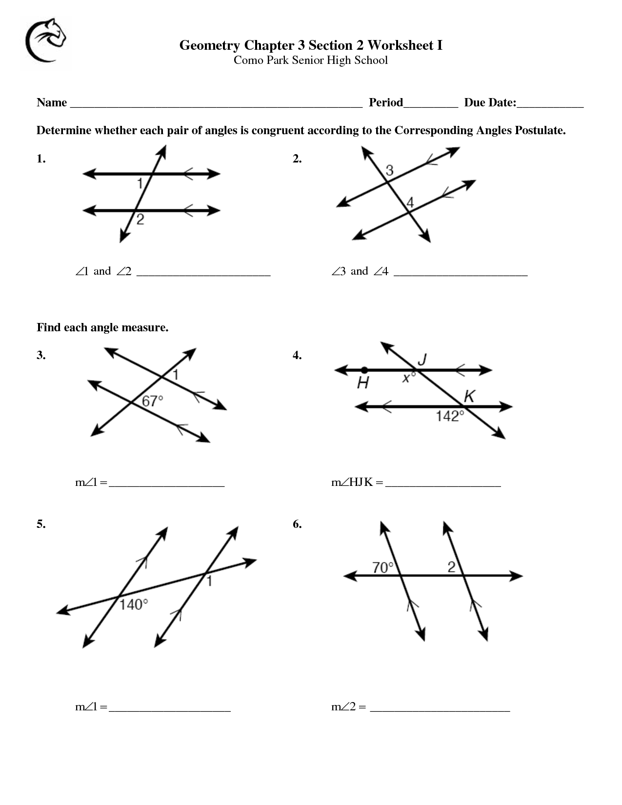13 Best Images Of Measuring Angles Worksheets
