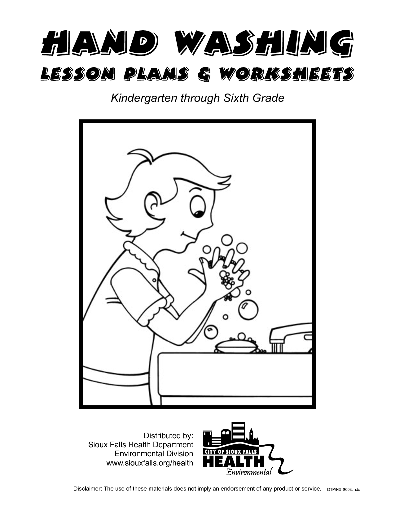 Flu And Germs Worksheet