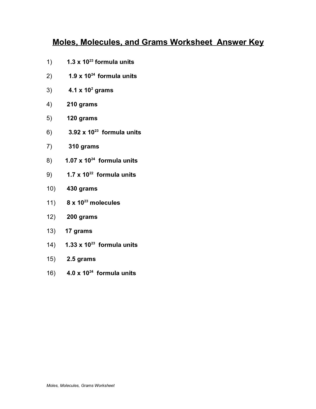 27 Chemistry Counting Atoms In Compounds Worksheet 701