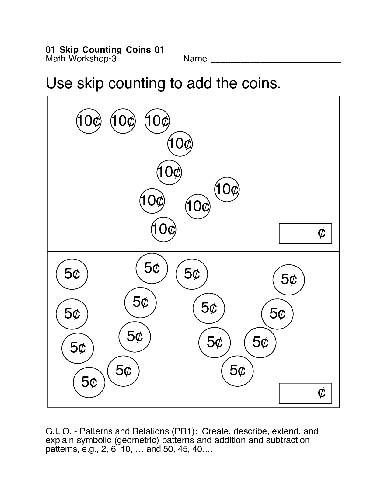 18 Best Images Of Skip Counting Objects Worksheets