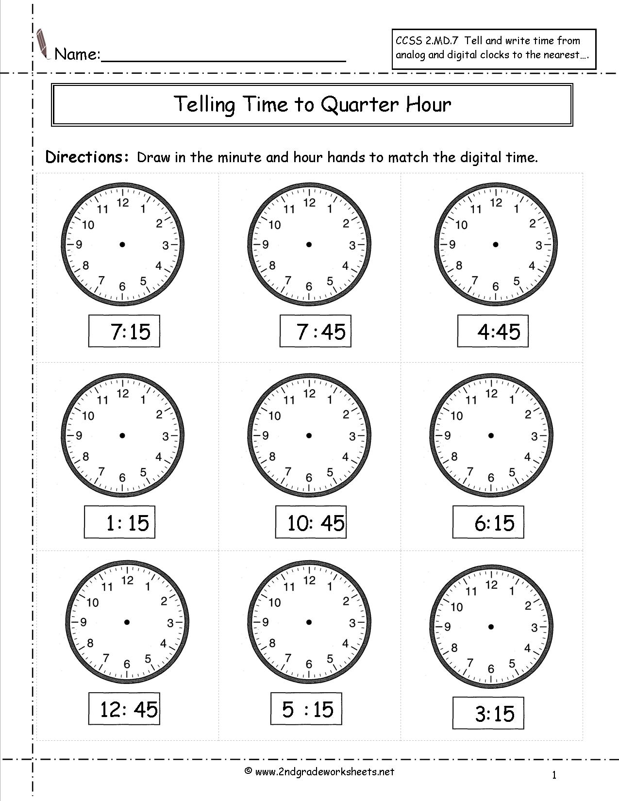 14 Best Images Of Elapsed Time Worksheets Grade 2