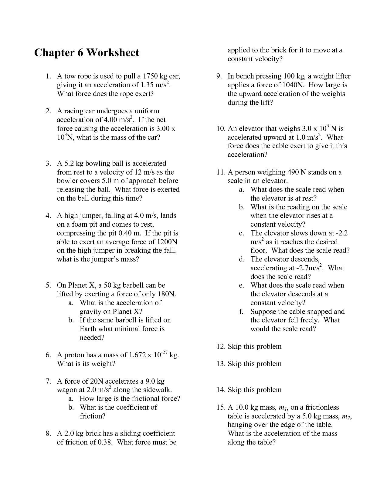 13 Best Images Of Speed And Velocity Problems Worksheet