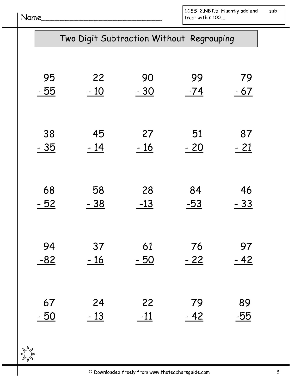 18 Best Images Of Adding And Subtracting Worksheets