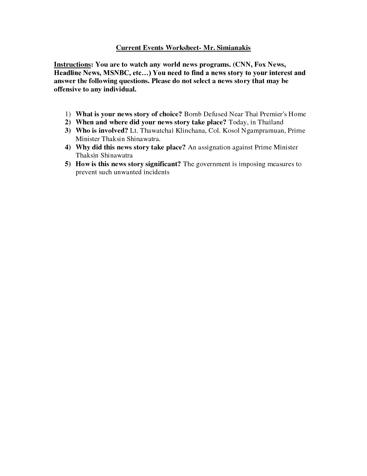 18 Best Images Of Central Idea Worksheets Middle School