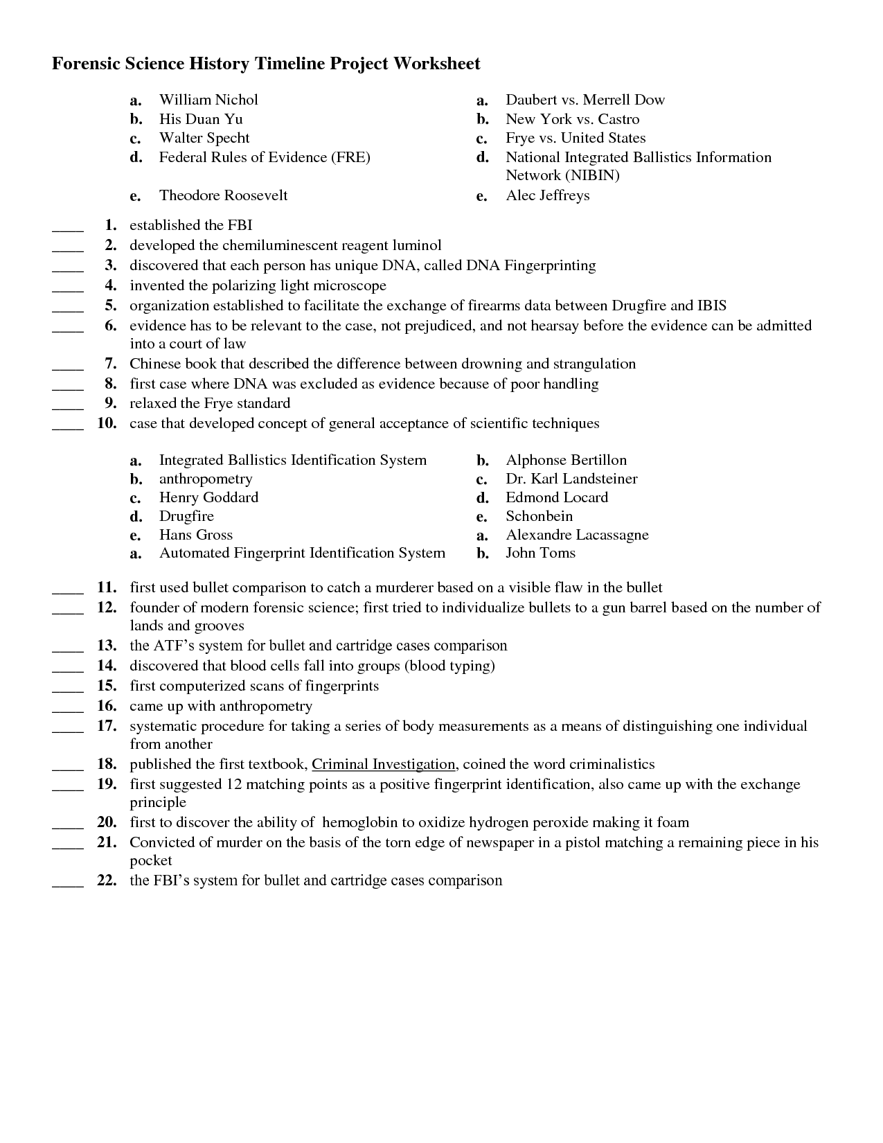 Gattaca Worksheet With Answers