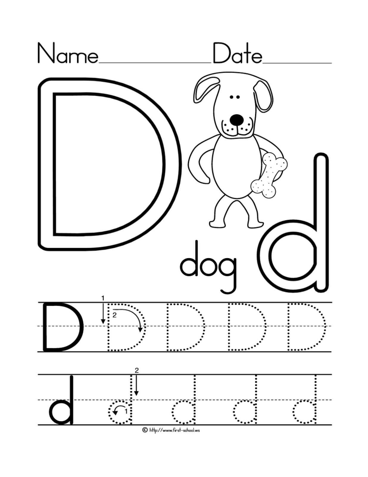 9 Best Images Of Learning Letter H Worksheets