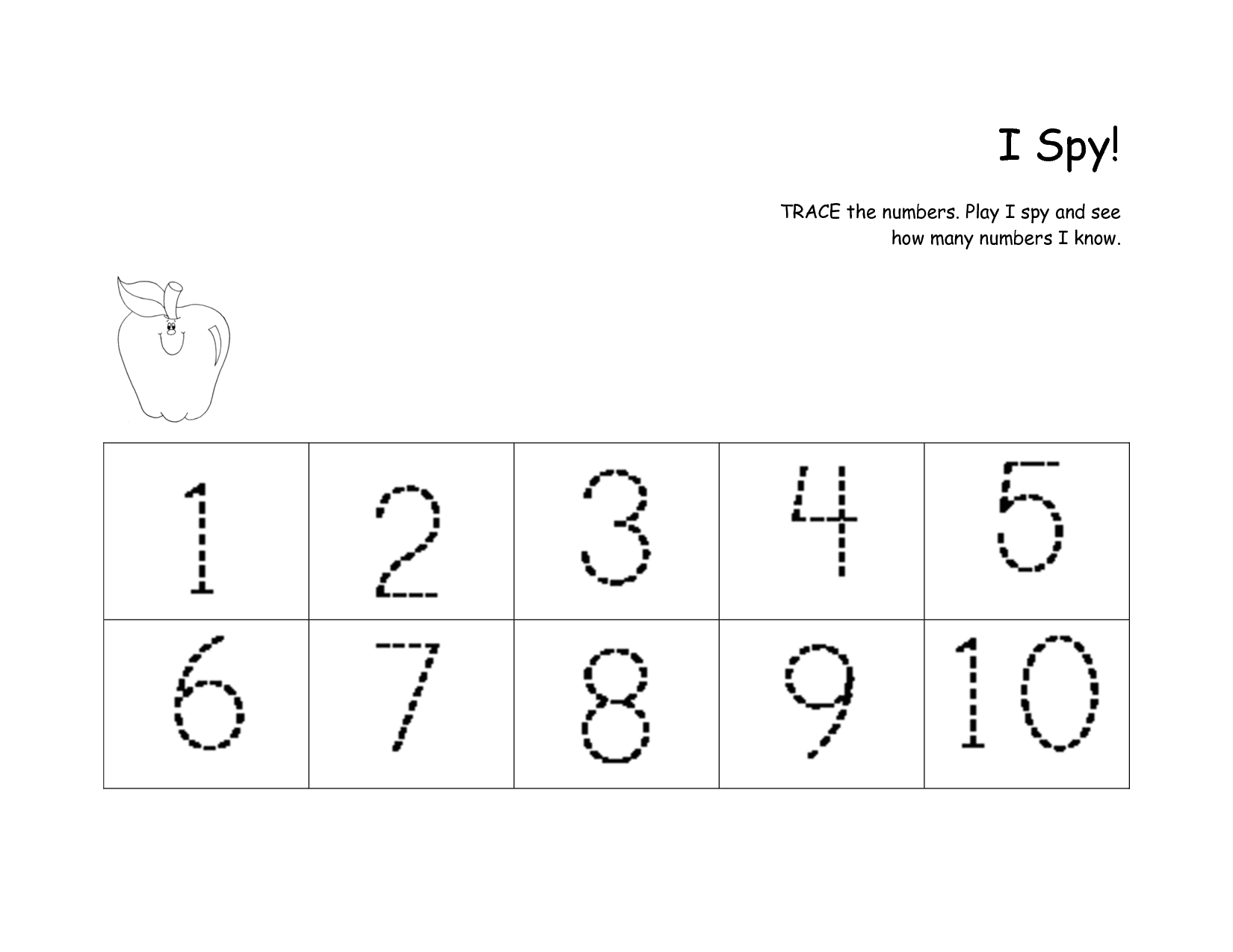 9 Best Images Of Handwriting Worksheets Numbers 1 10