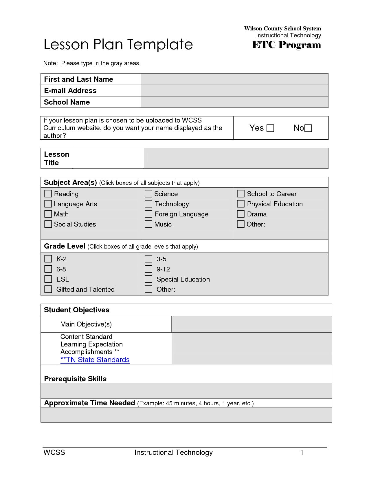 Worksheet For Middle School Students Resume