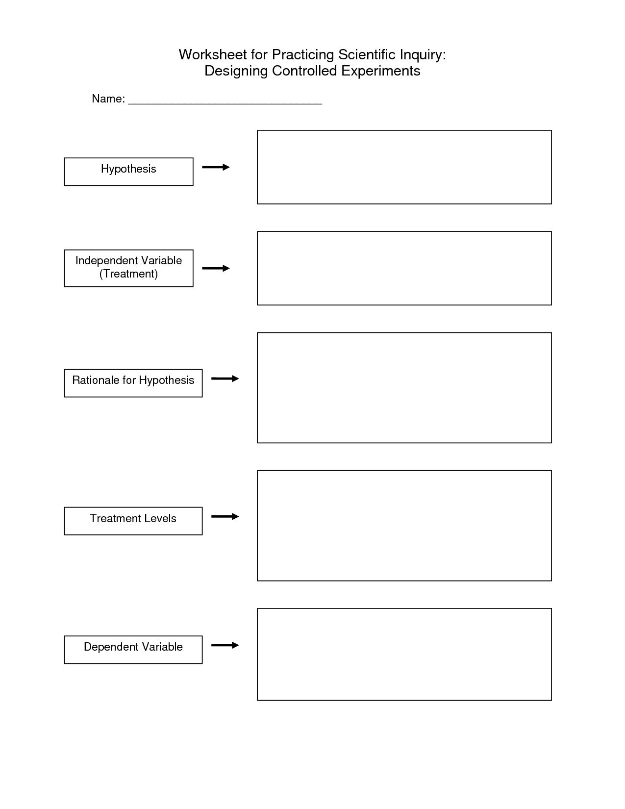 18 Best Images Of Scientific Method Worksheet 4th Grade