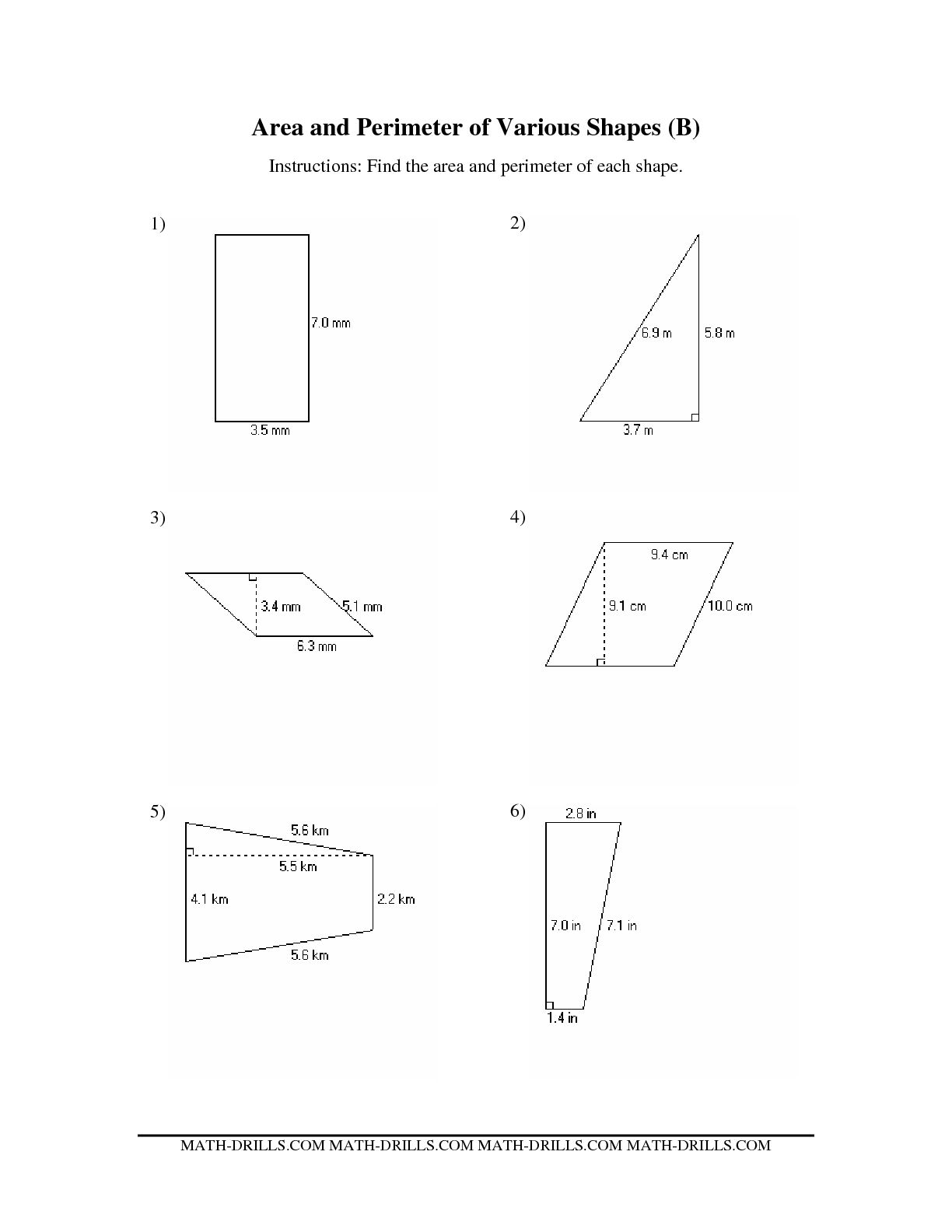 13 Best Images Of Shapes In The Environment Worksheet