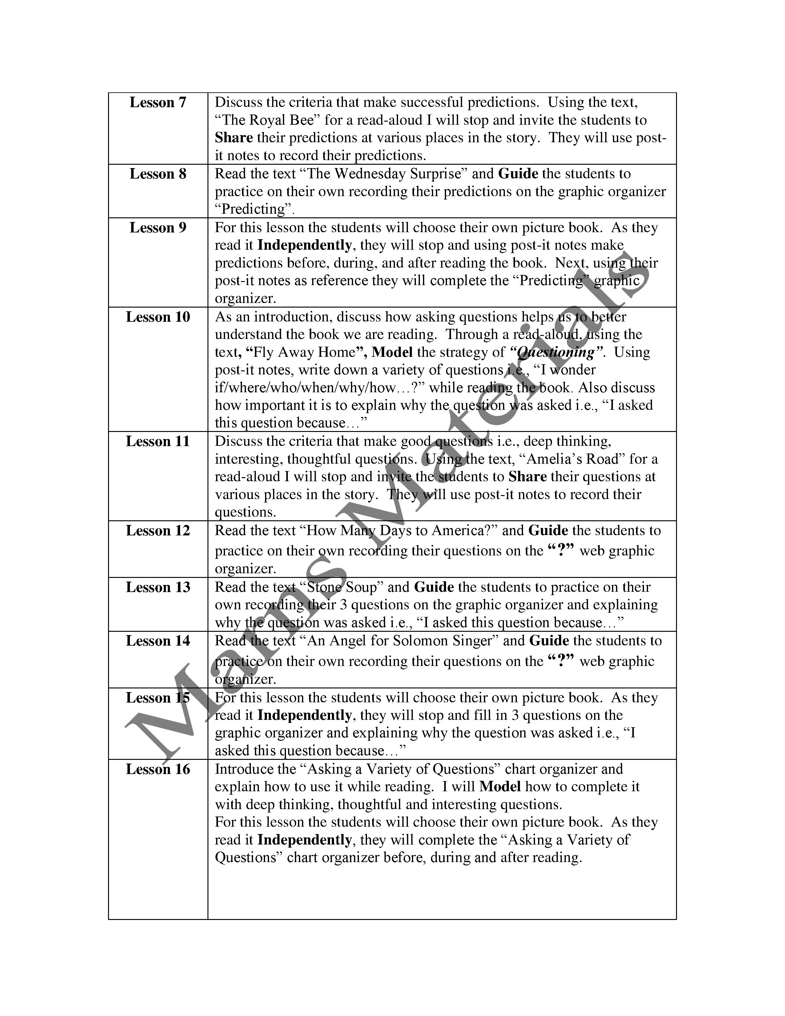 10 Best Images Of 8 Expectations For Living Worksheets