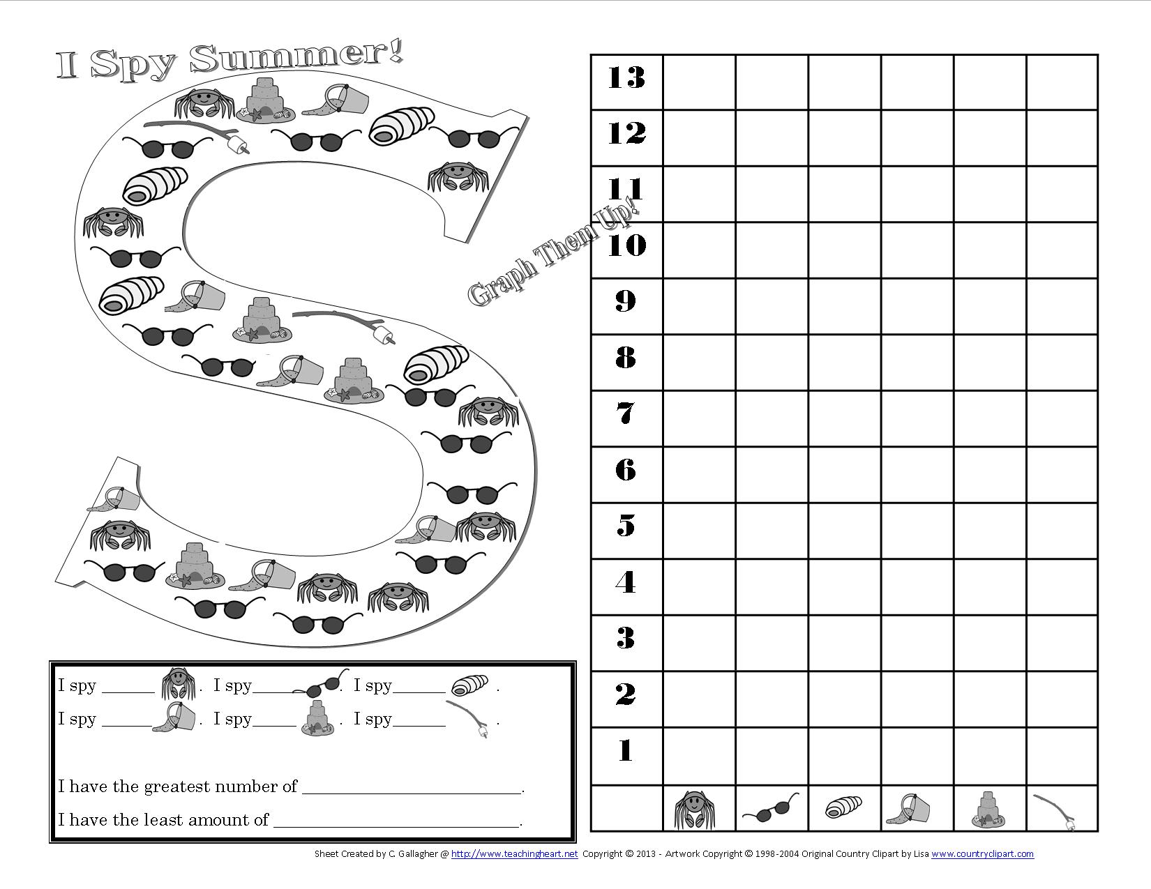 13 Best Images Of I Spy Worksheets Free Printables
