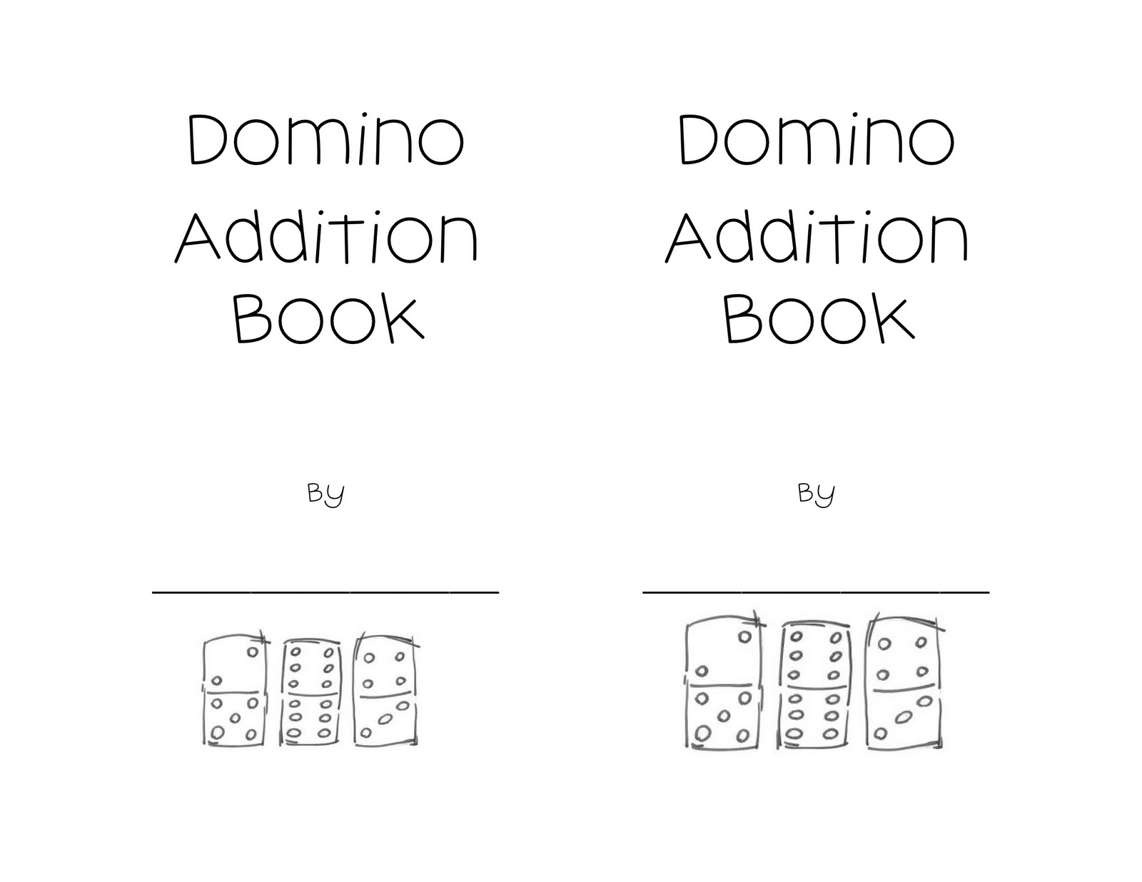 14 Best Images Of Domino Addition Worksheets For