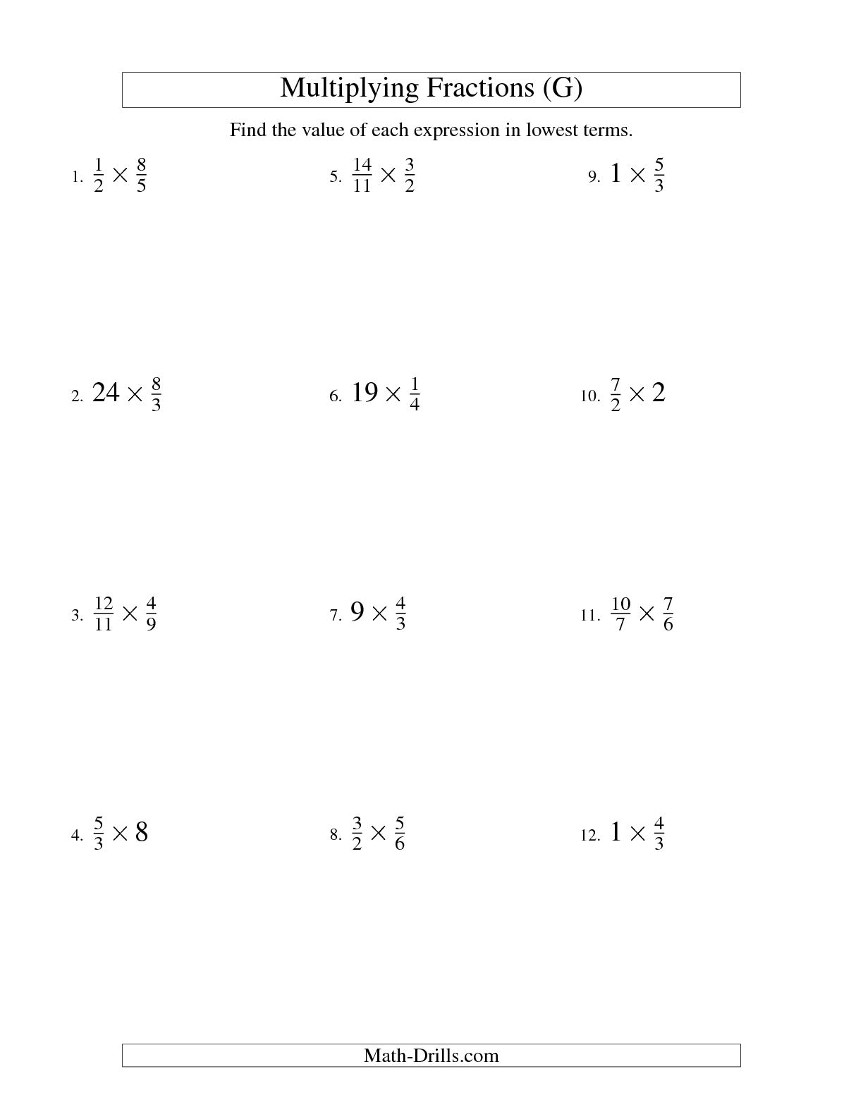 11 Best Images Of Fractions Of A Whole Worksheet