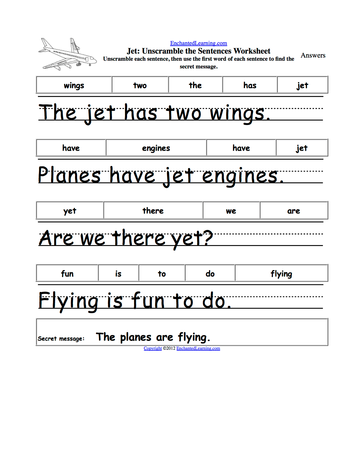 16 Best Images Of Kindergarten Writing Sentences Worksheet