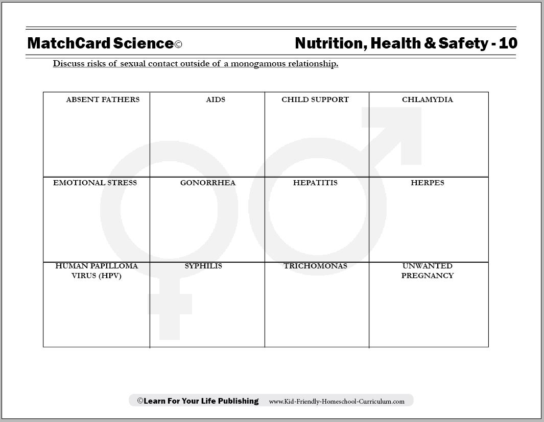 8 Best Images Of Substance Abuse Prevention Worksheets