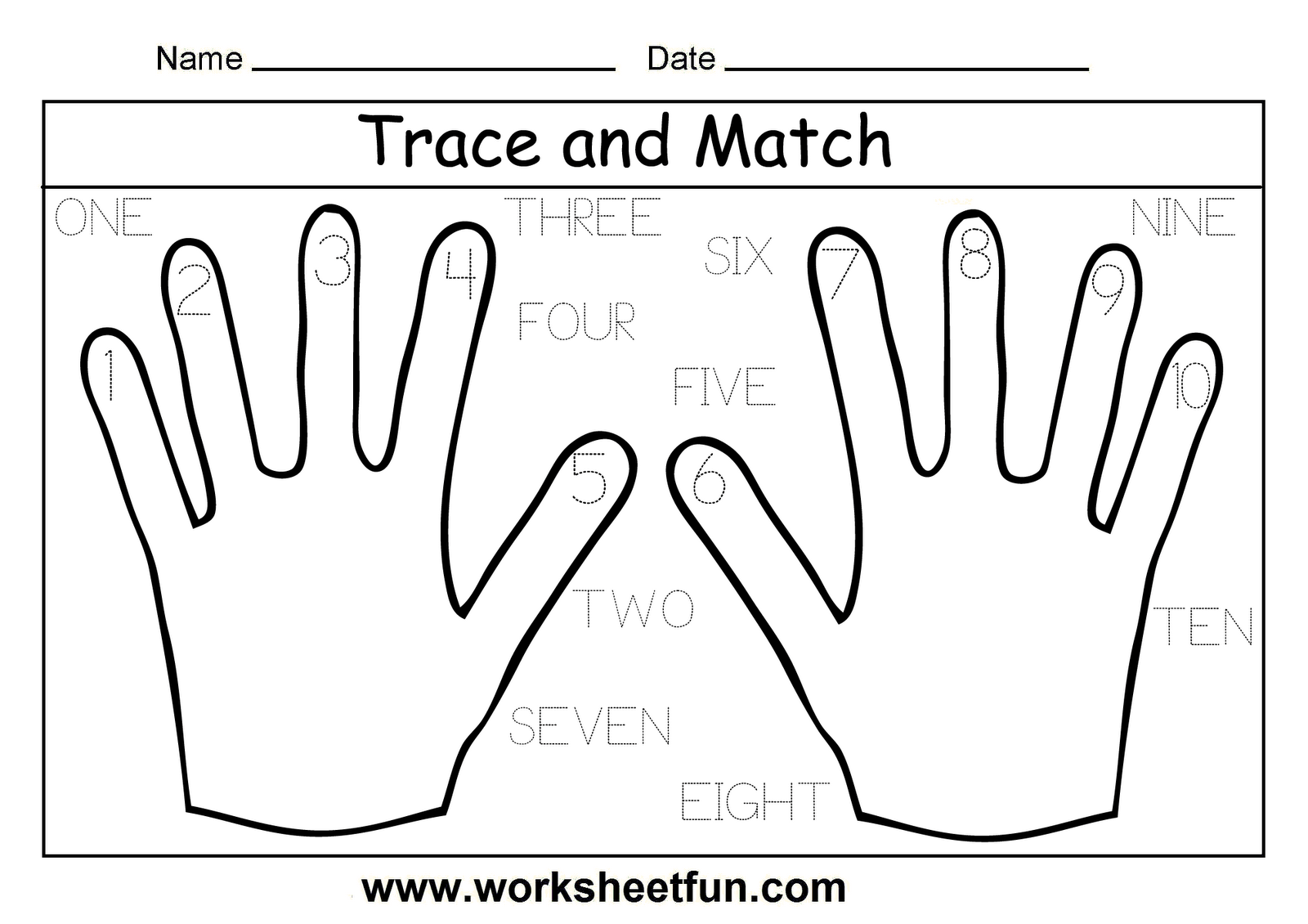 12 Best Images Of Tracing Numbers 10 20 Worksheets