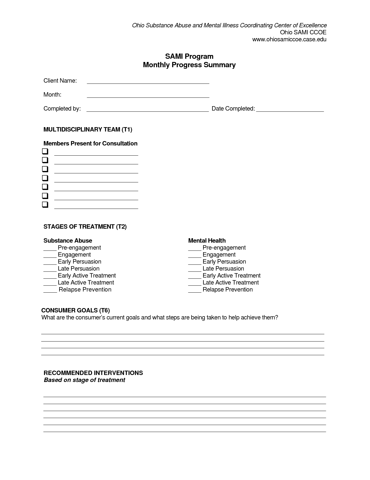 Safety Plan Worksheet For Addiction