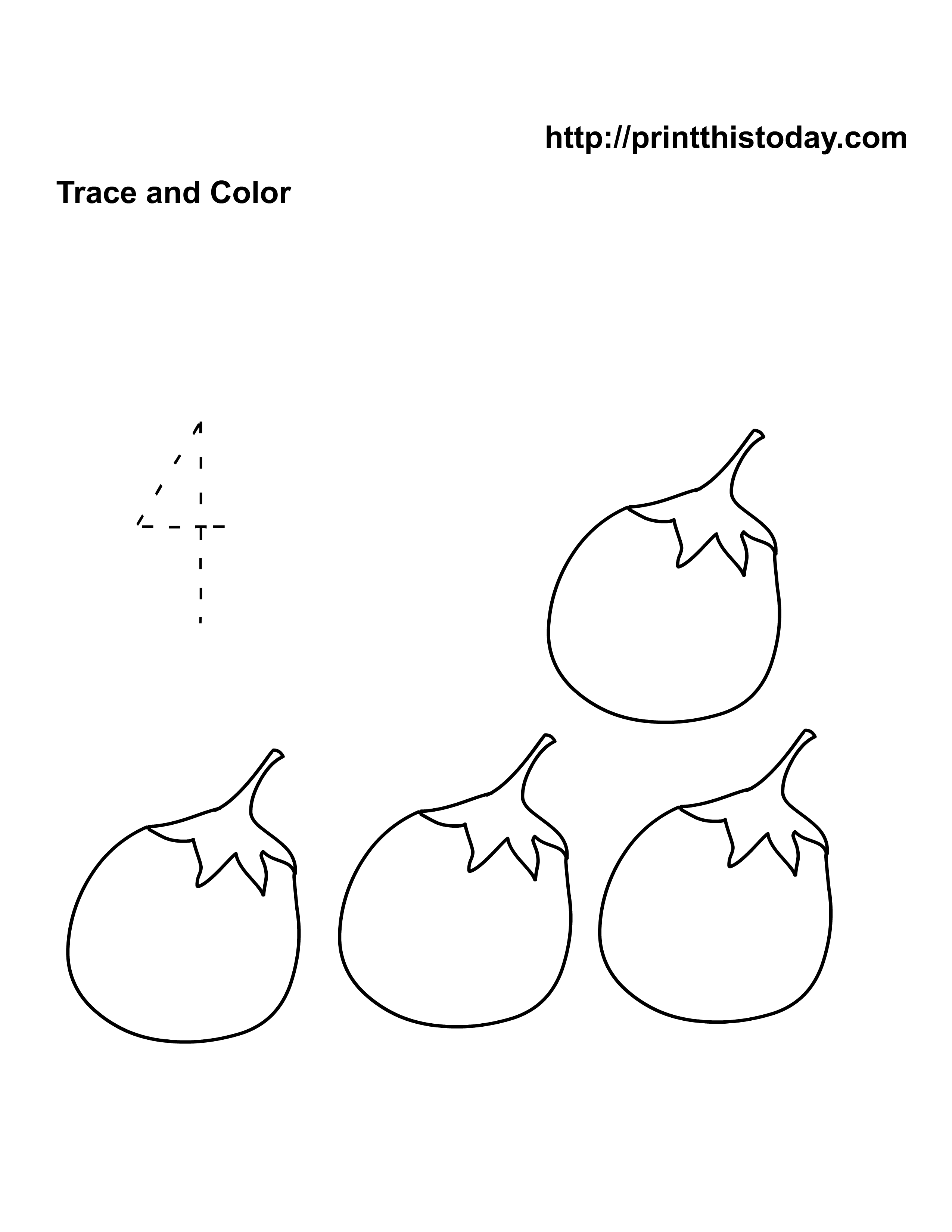 12 Best Images Of Trace And Color Math Worksheet