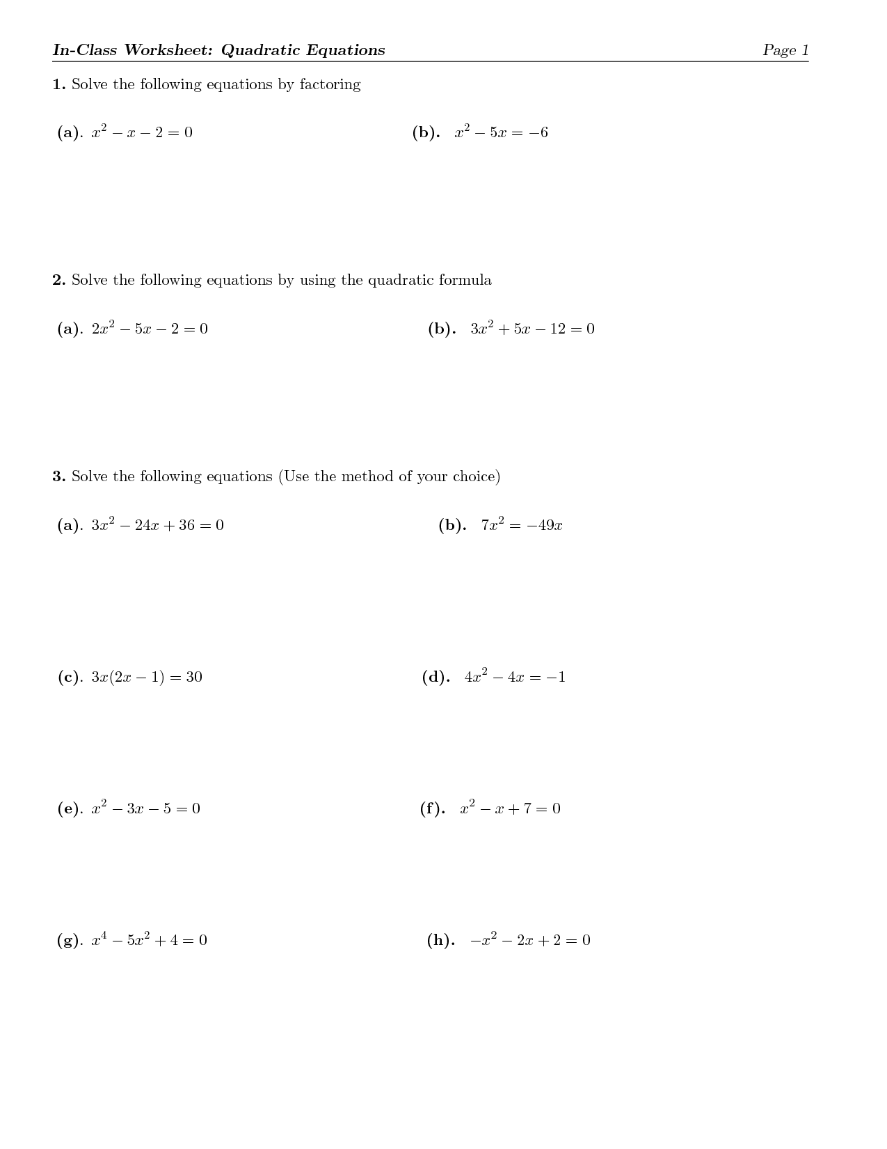 10 Best Images Of In One Variable Inequalities Worksheet