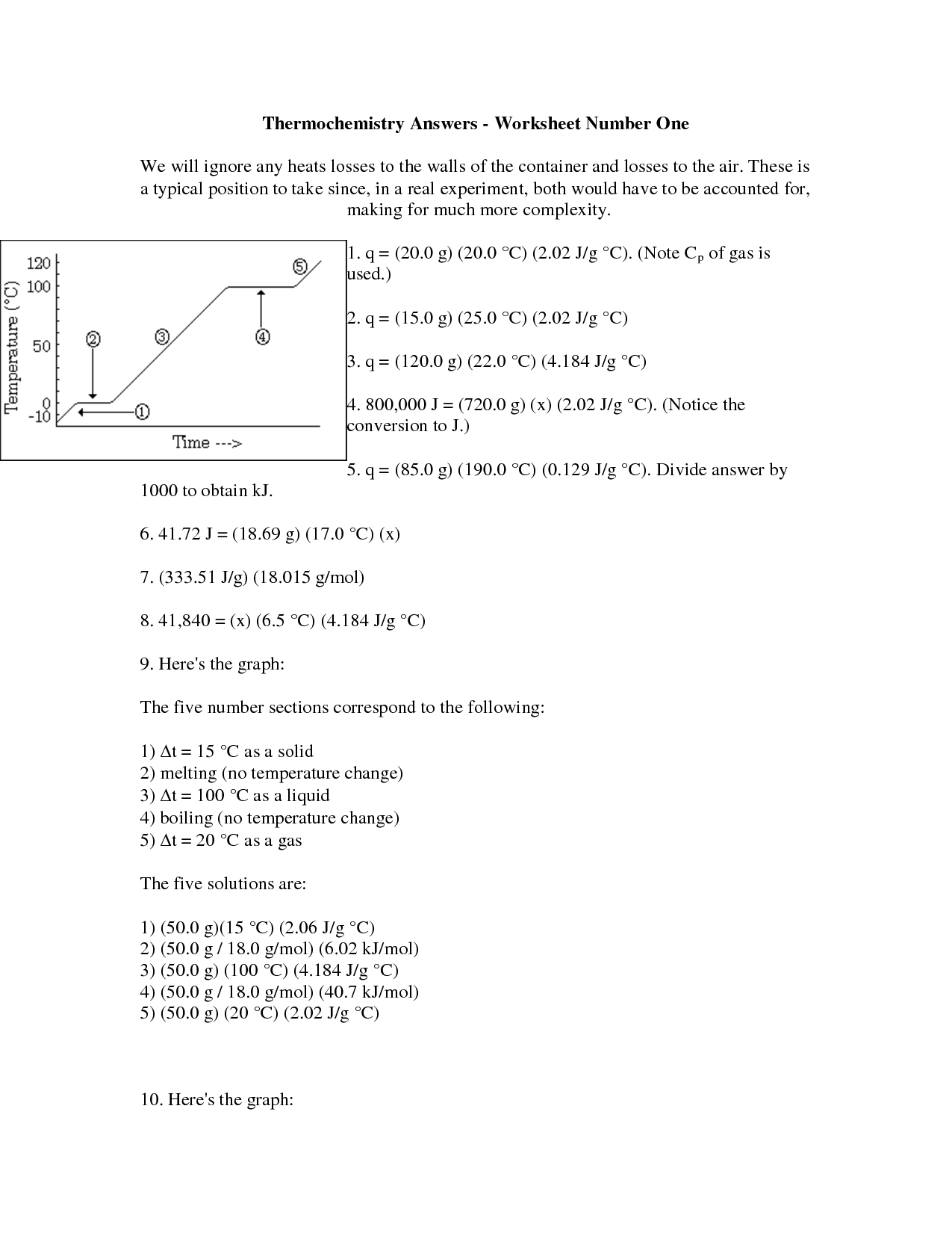 15 Best Images Of Heat Loss Worksheet