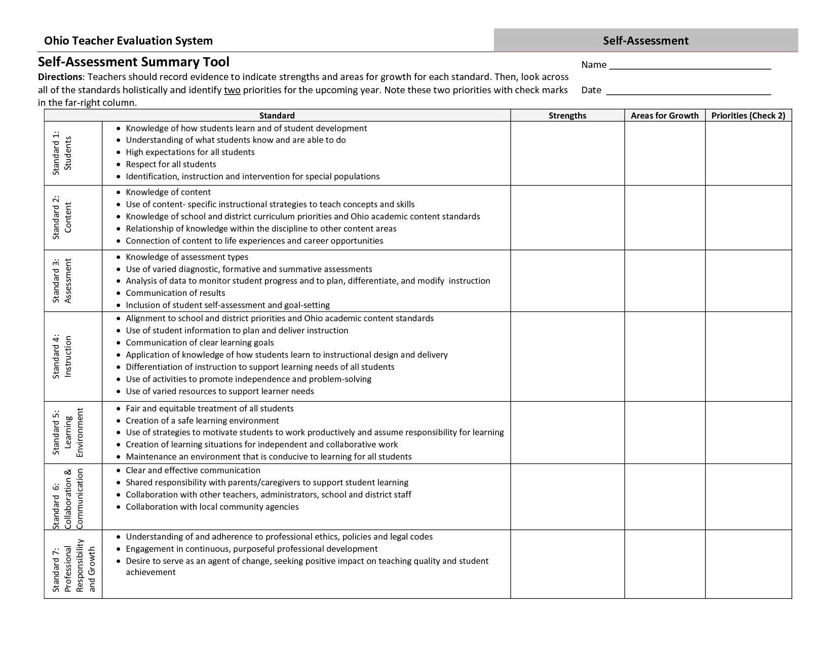 14 Best Images Of Business Goals Worksheet