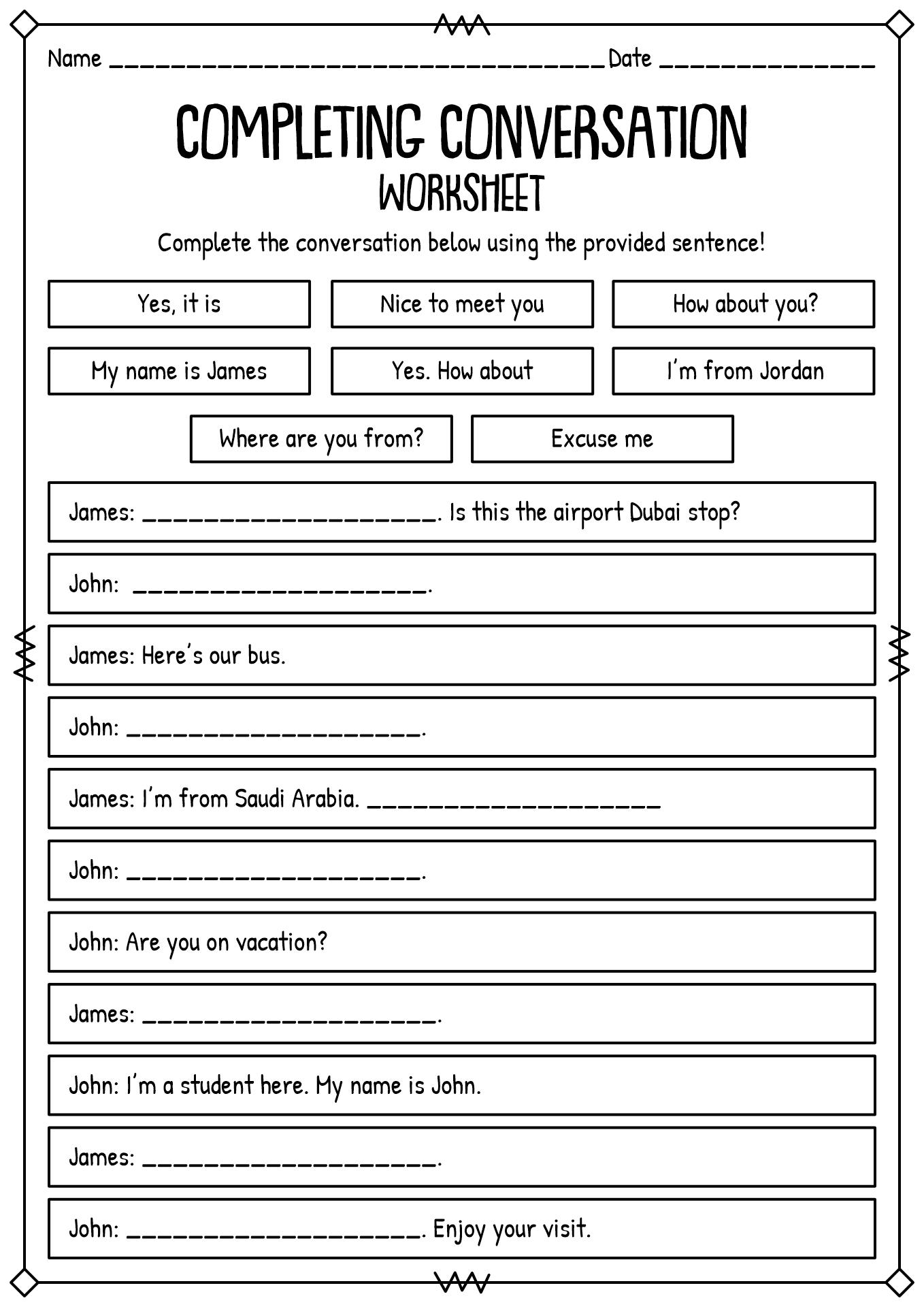 Logic Worksheets For High School