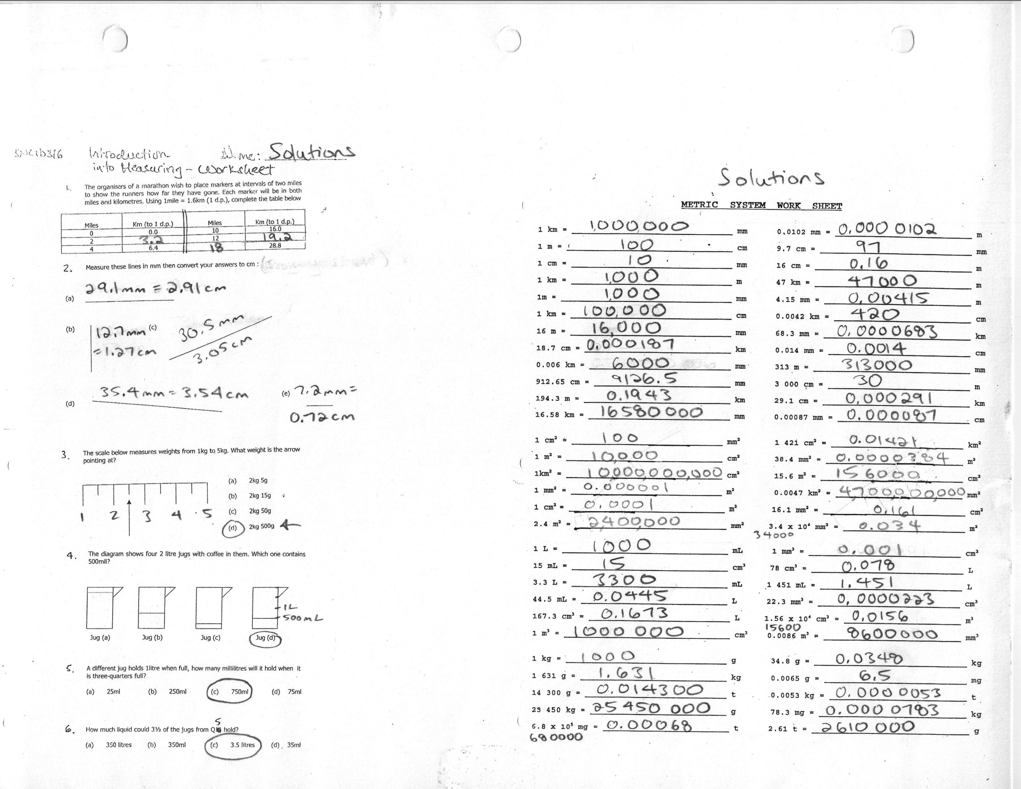 18 Best Images Of Vernier Caliper Practice Worksheet
