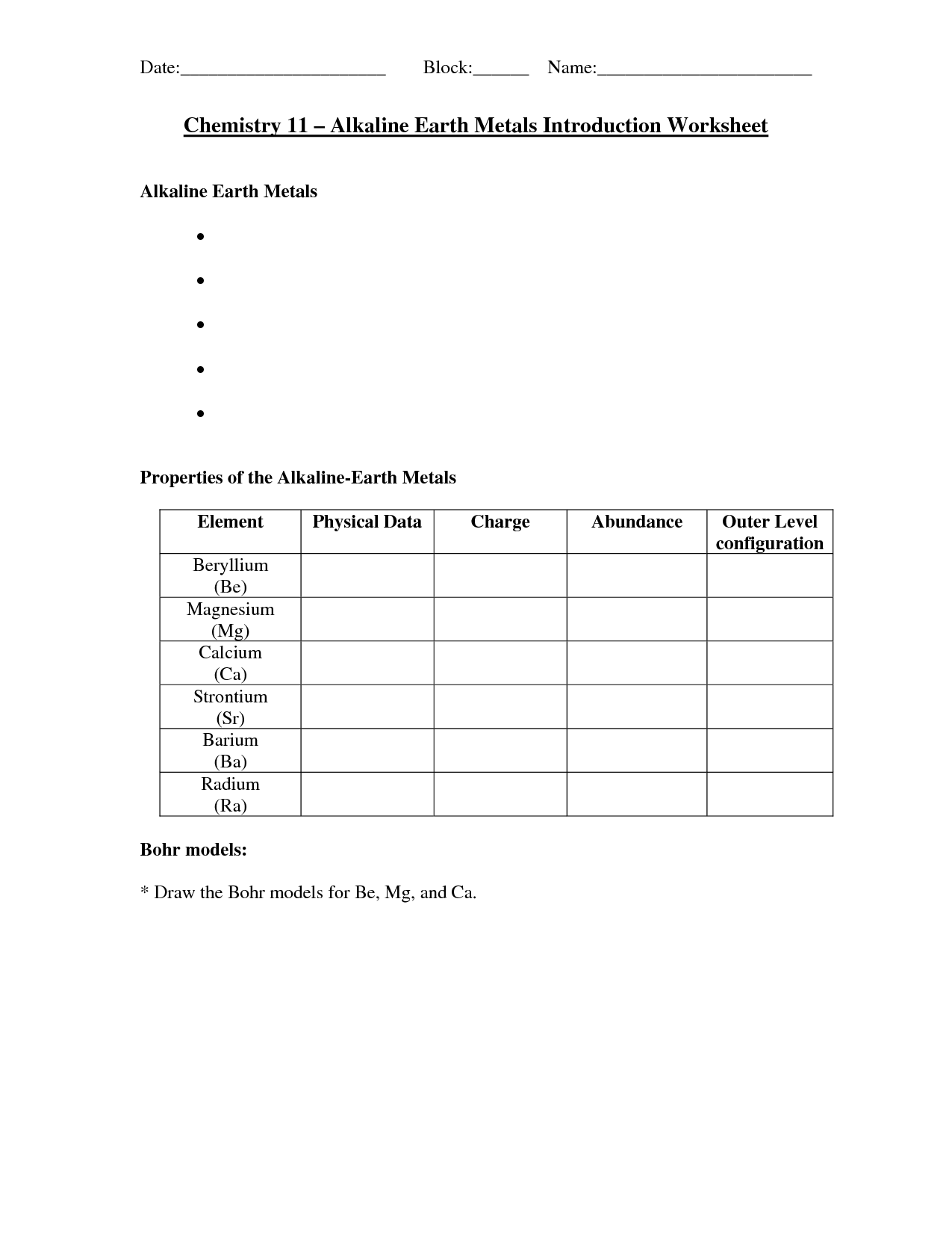 16 Best Images Of Periodic Table Worksheet Answer Key