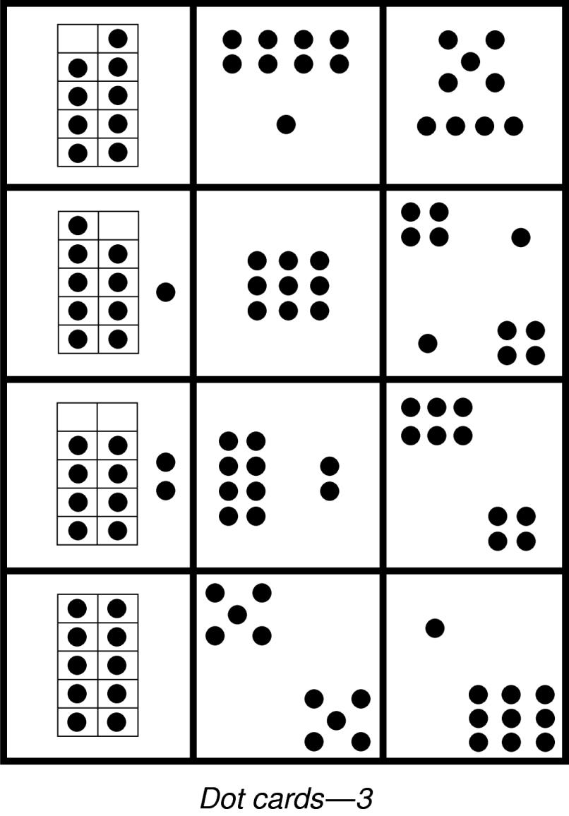 Mini Ten Frames With Dots | Allframes5.org