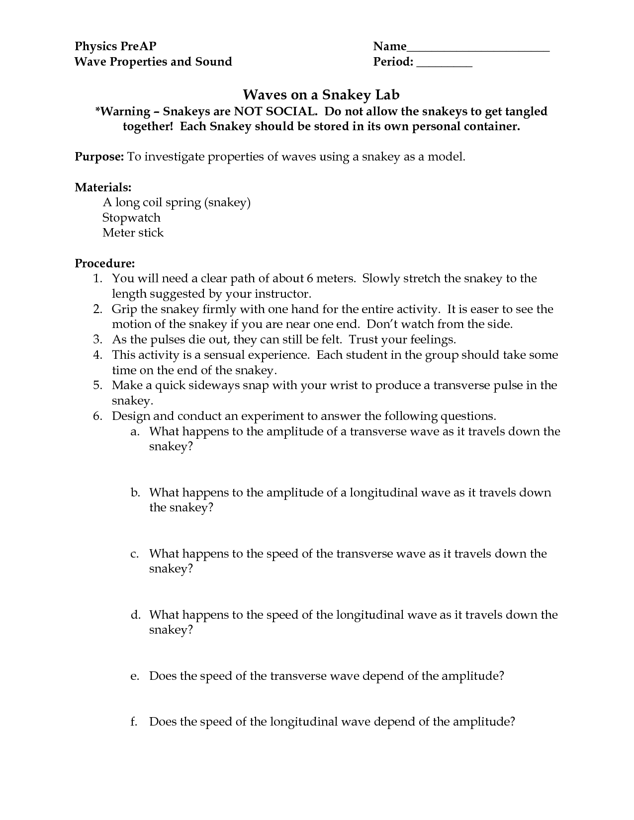 12 Best Images Of Labeling Waves Worksheet Answer Key 1 17