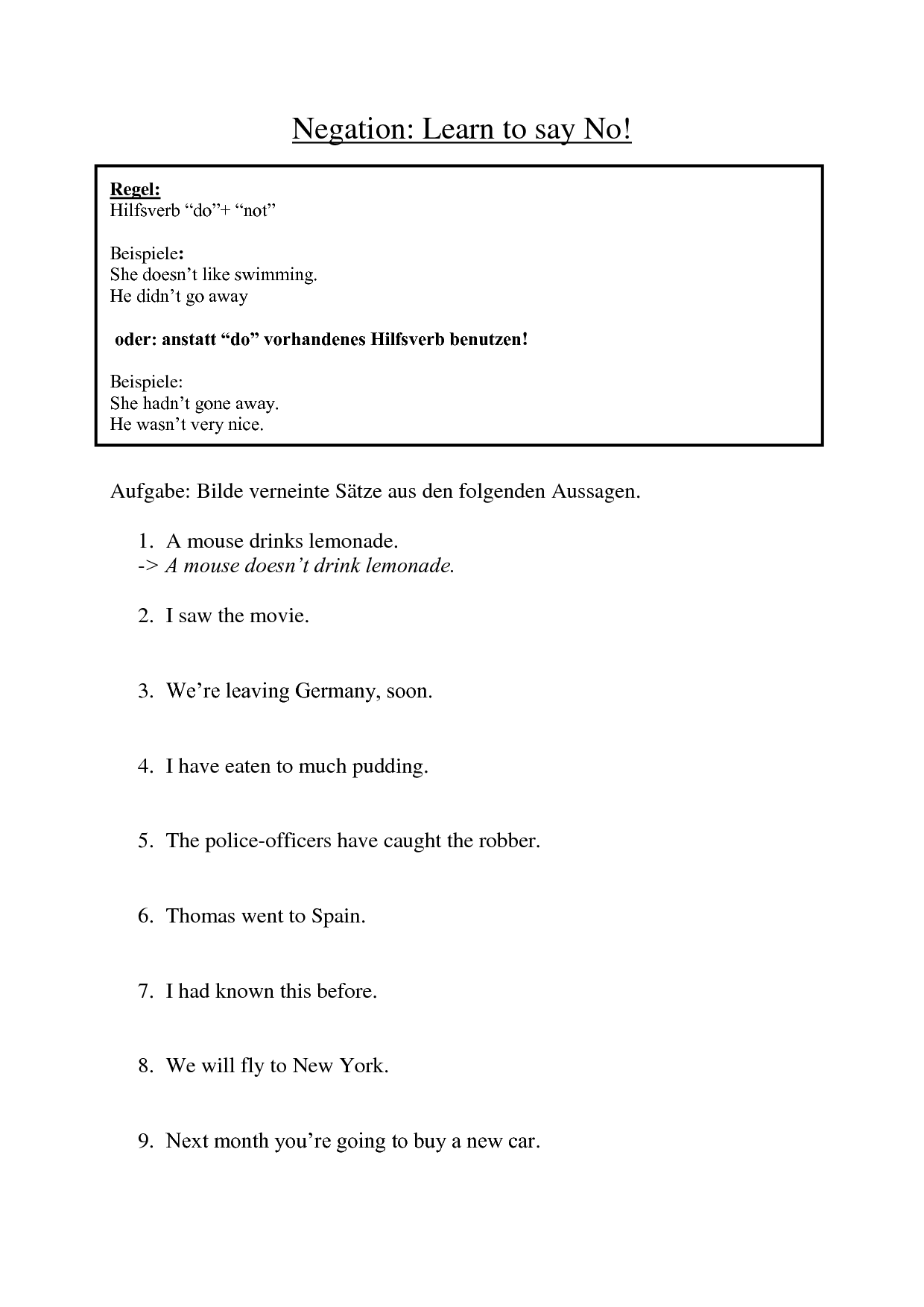 17 Best Images Of Statement And Question Worksheets