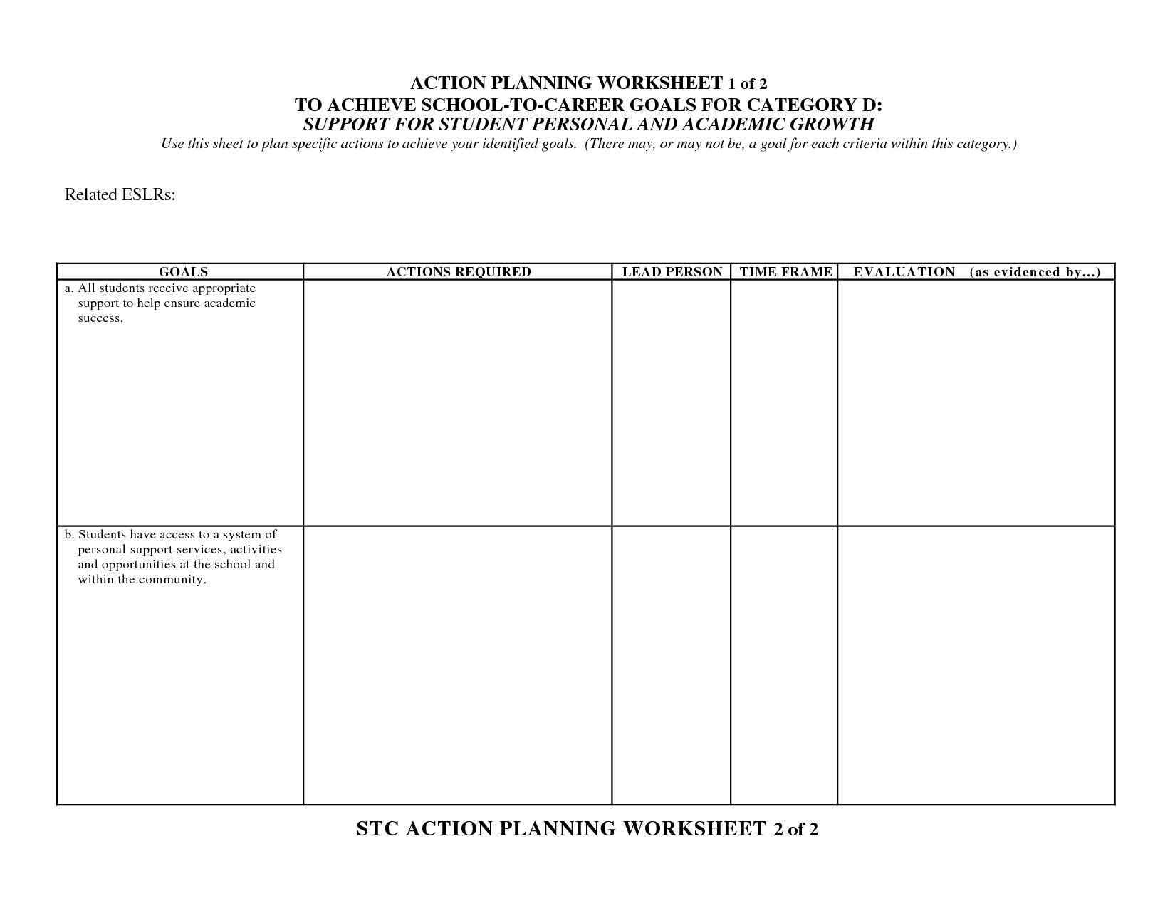 9 Best Images Of Wellness Recovery Action Plan Worksheets