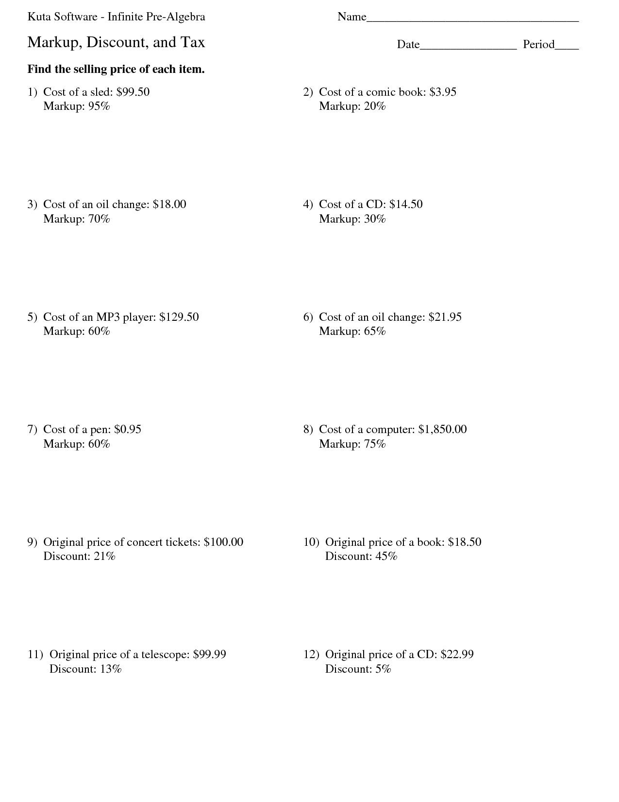 15 Best Images Of Factoring Worksheet Kuta