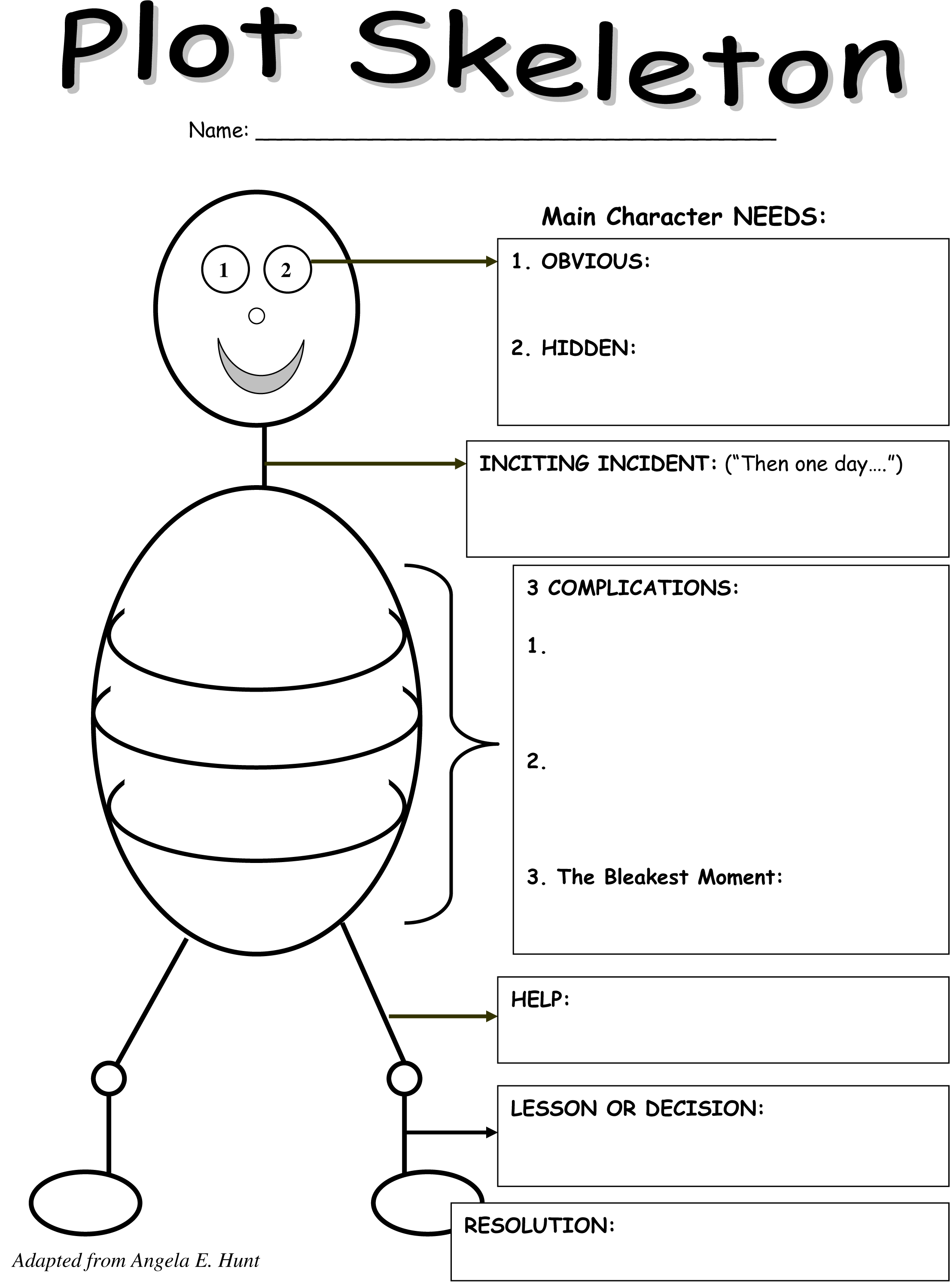 15 Best Images Of Plot Worksheets Middle School