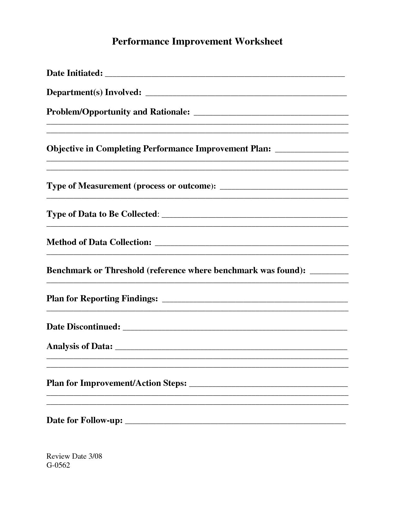 18 Best Images Of Personal Development Plan Worksheet