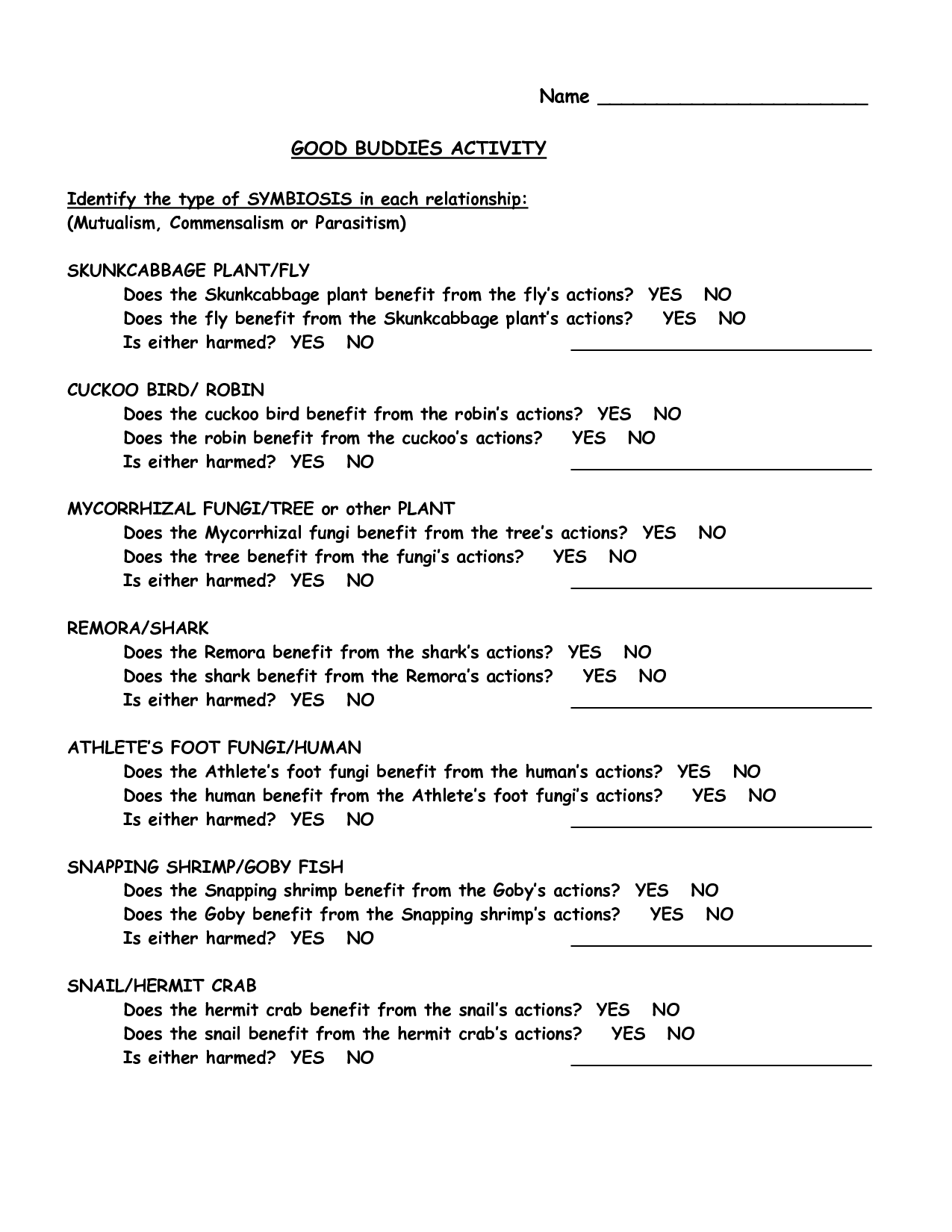 14 Best Images Of Free Couples Relationship Worksheets