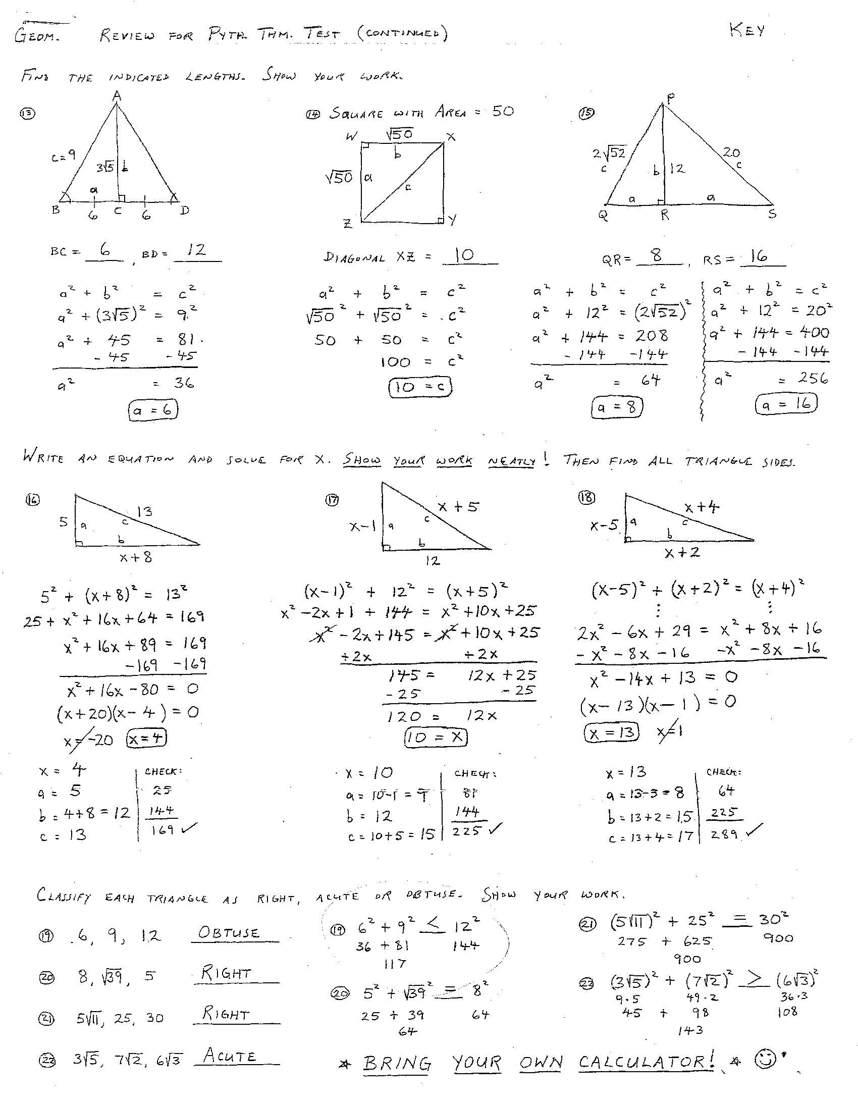 Worksheets Geometry Practice Worksheets With Answers