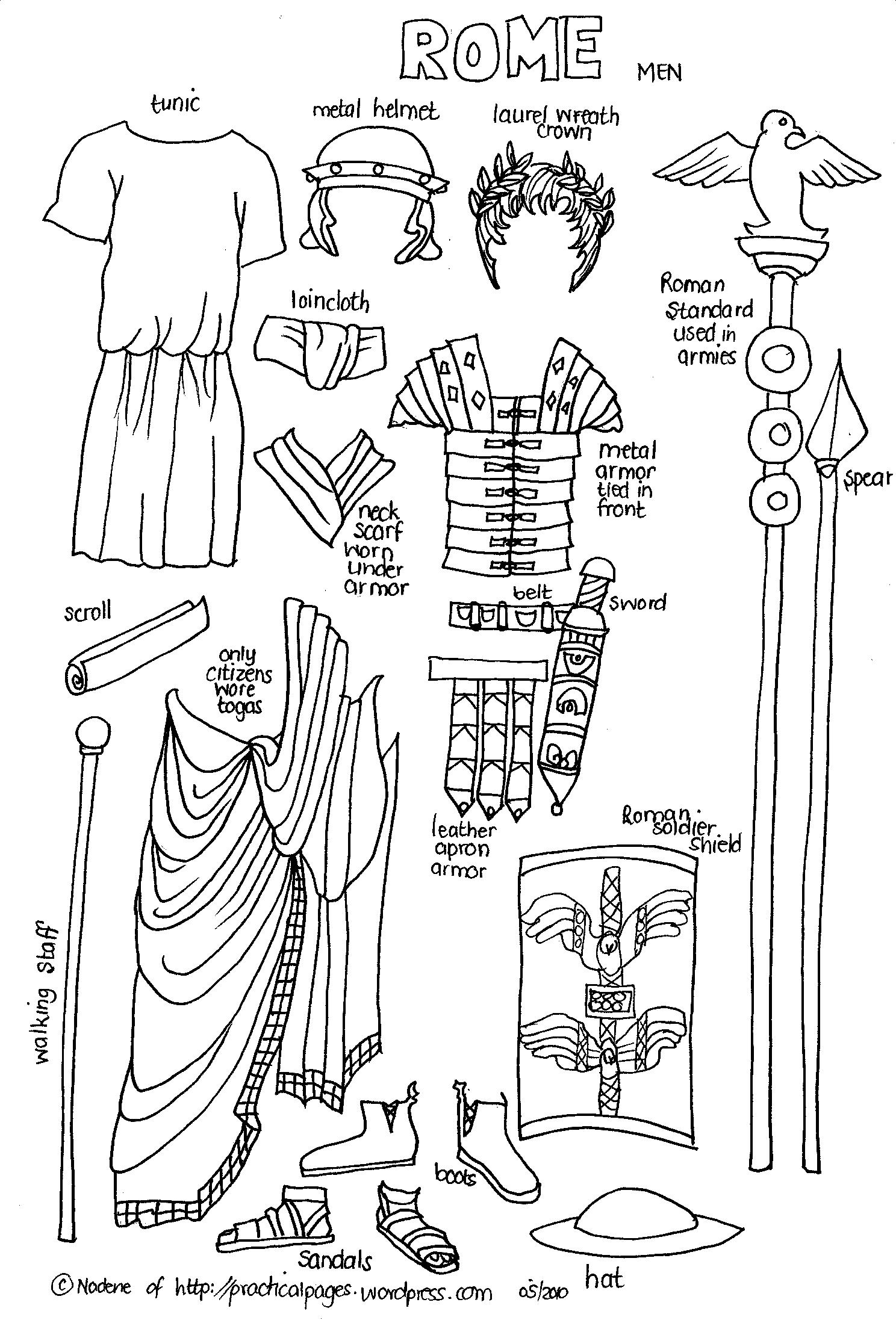 13 Best Images Of Ancient Rome Worksheets 3rd Grade