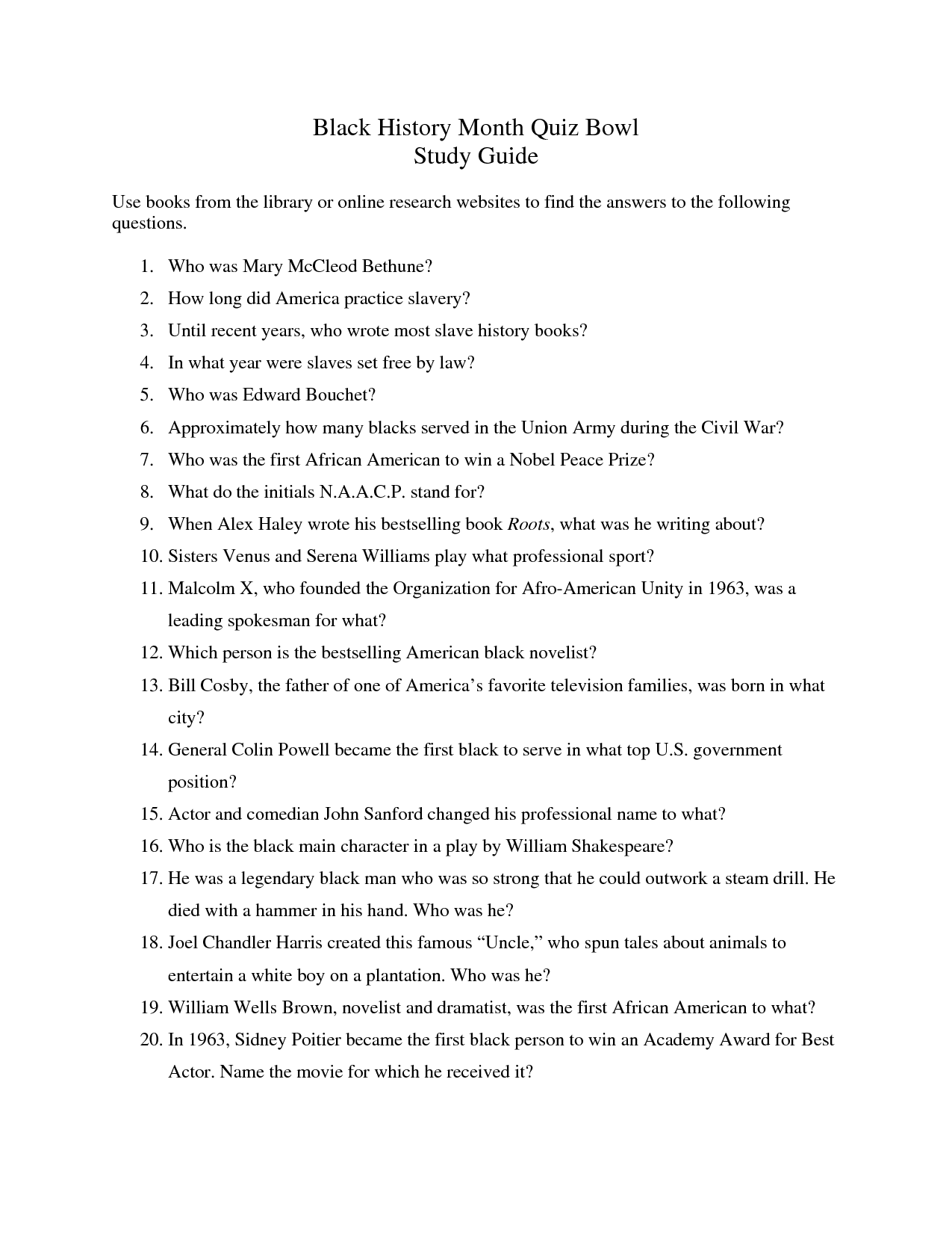 15 Best Images Of Modern World History Questions Worksheets