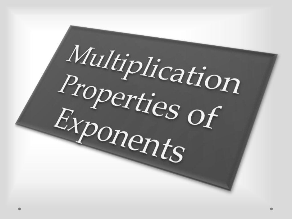 14 Best Images Of Multiplication Properties Of Exponents