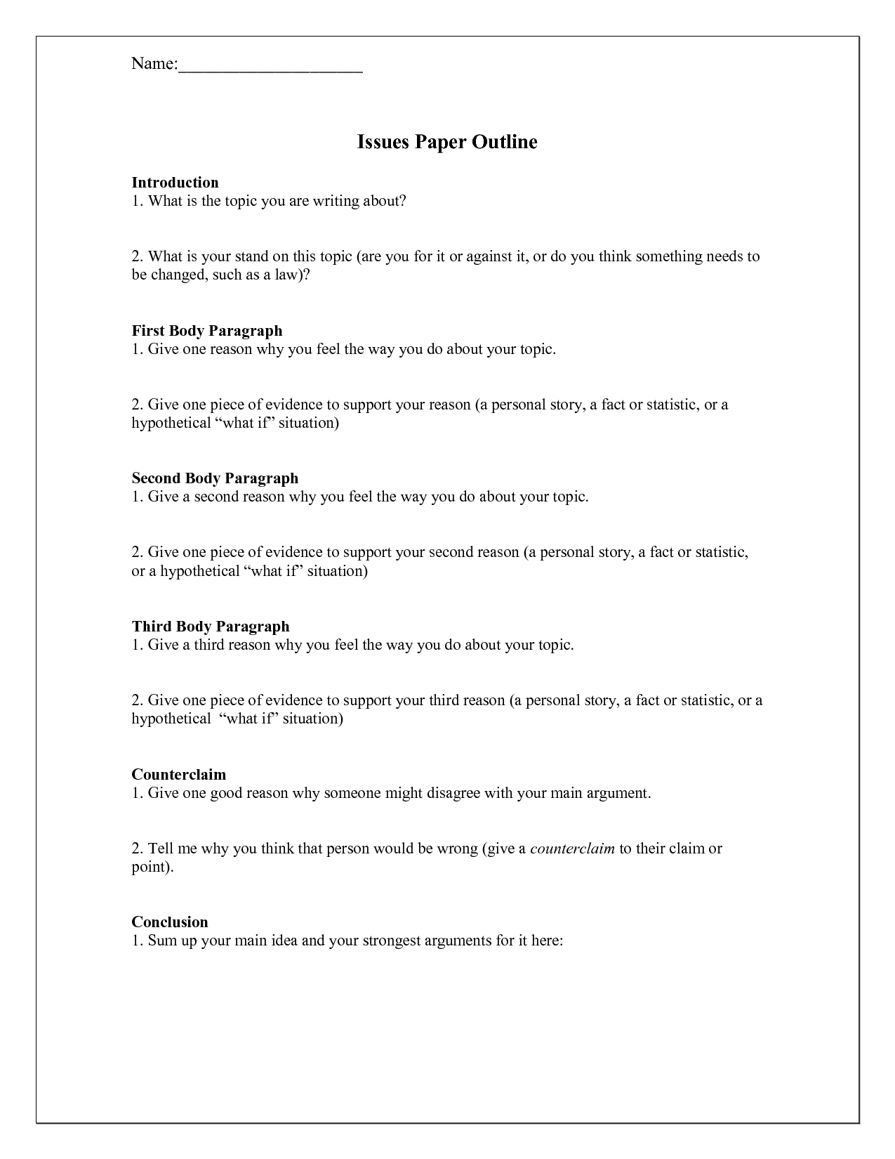 13 Best Images Of Writing A Persuasive Paragraph Worksheet