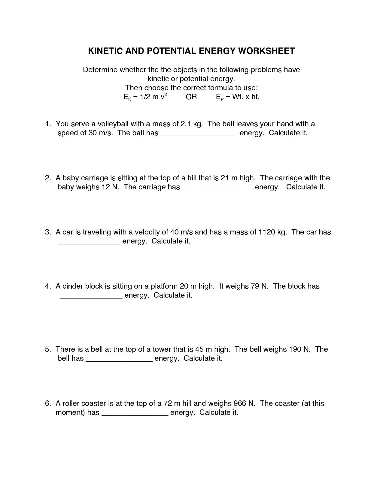 Gibbs Energy Worksheet Doc